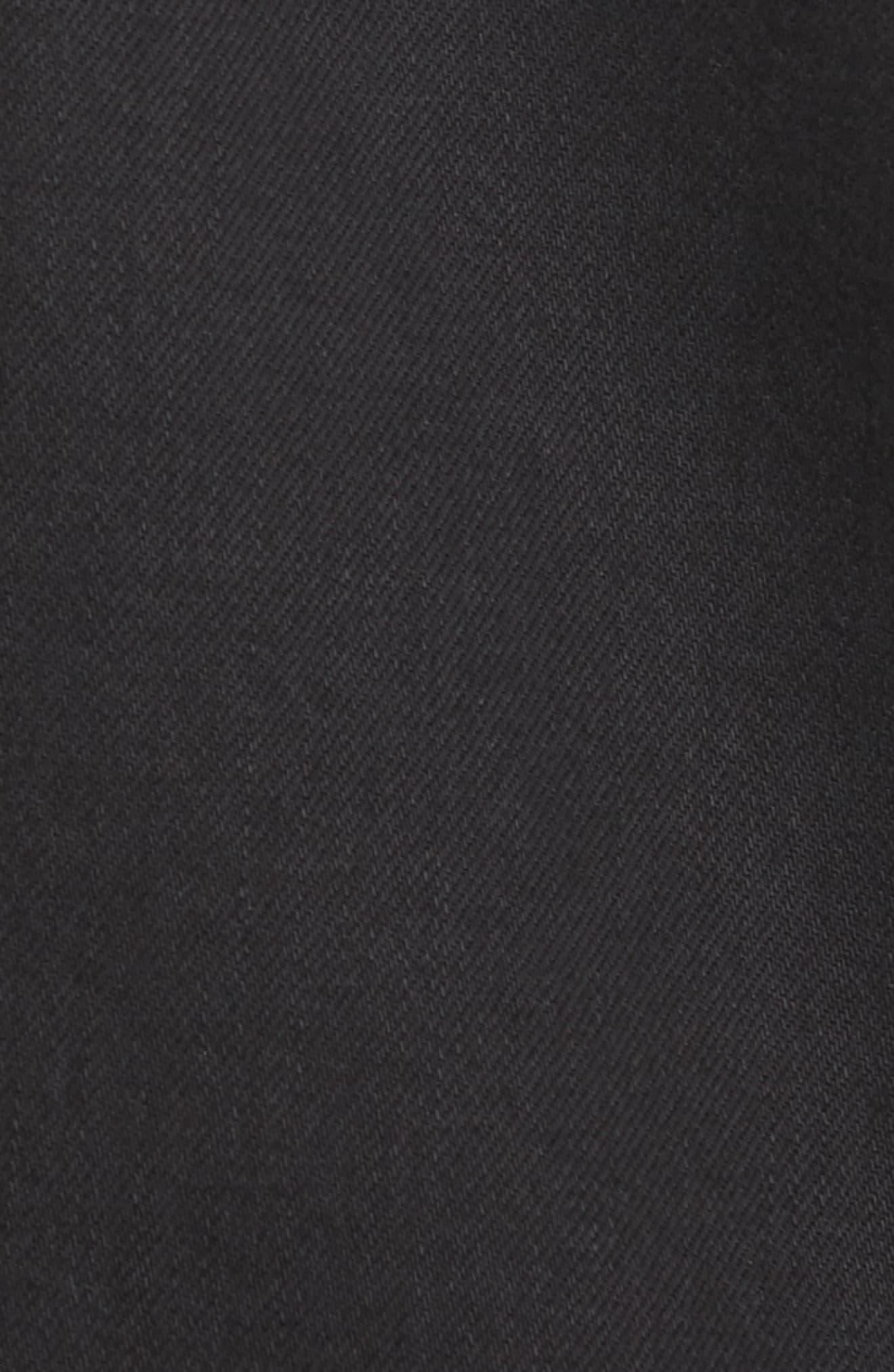 L'Homme Denim Jacket,                             Alternate thumbnail 6, color,                             001