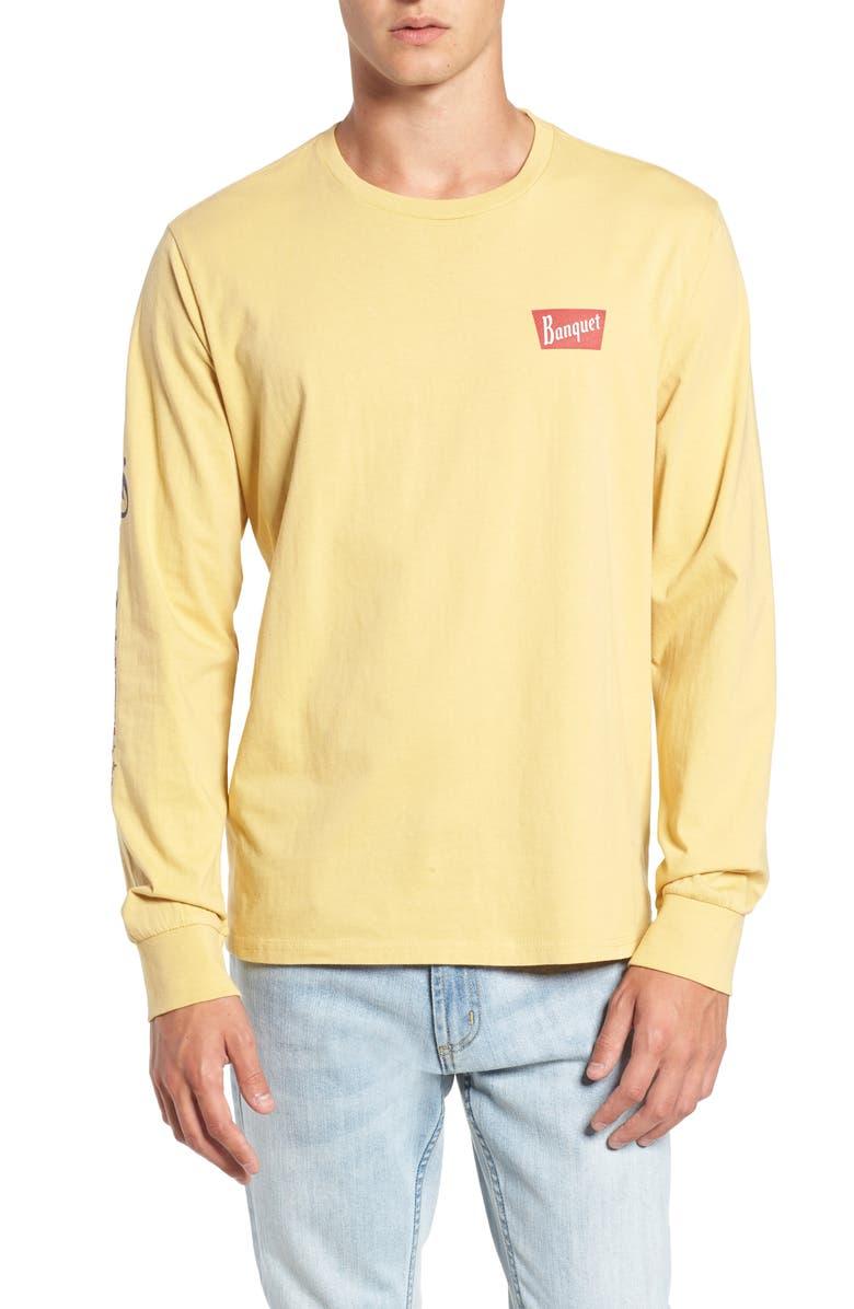 Brixton Coors Banquet Long Sleeve T-Shirt  aa5c99680d0