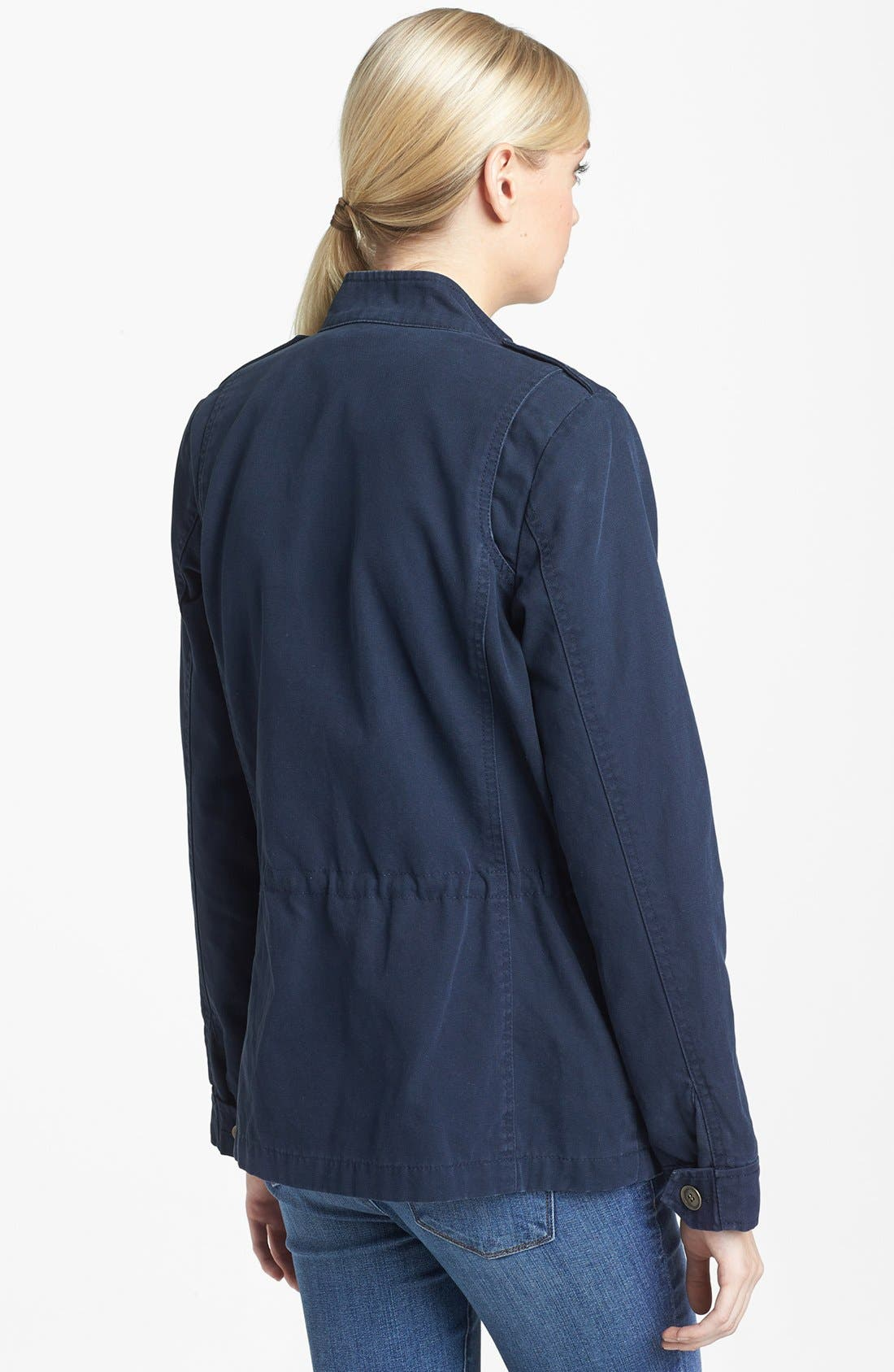 'Expedition' Cotton Twill Jacket,                             Alternate thumbnail 9, color,