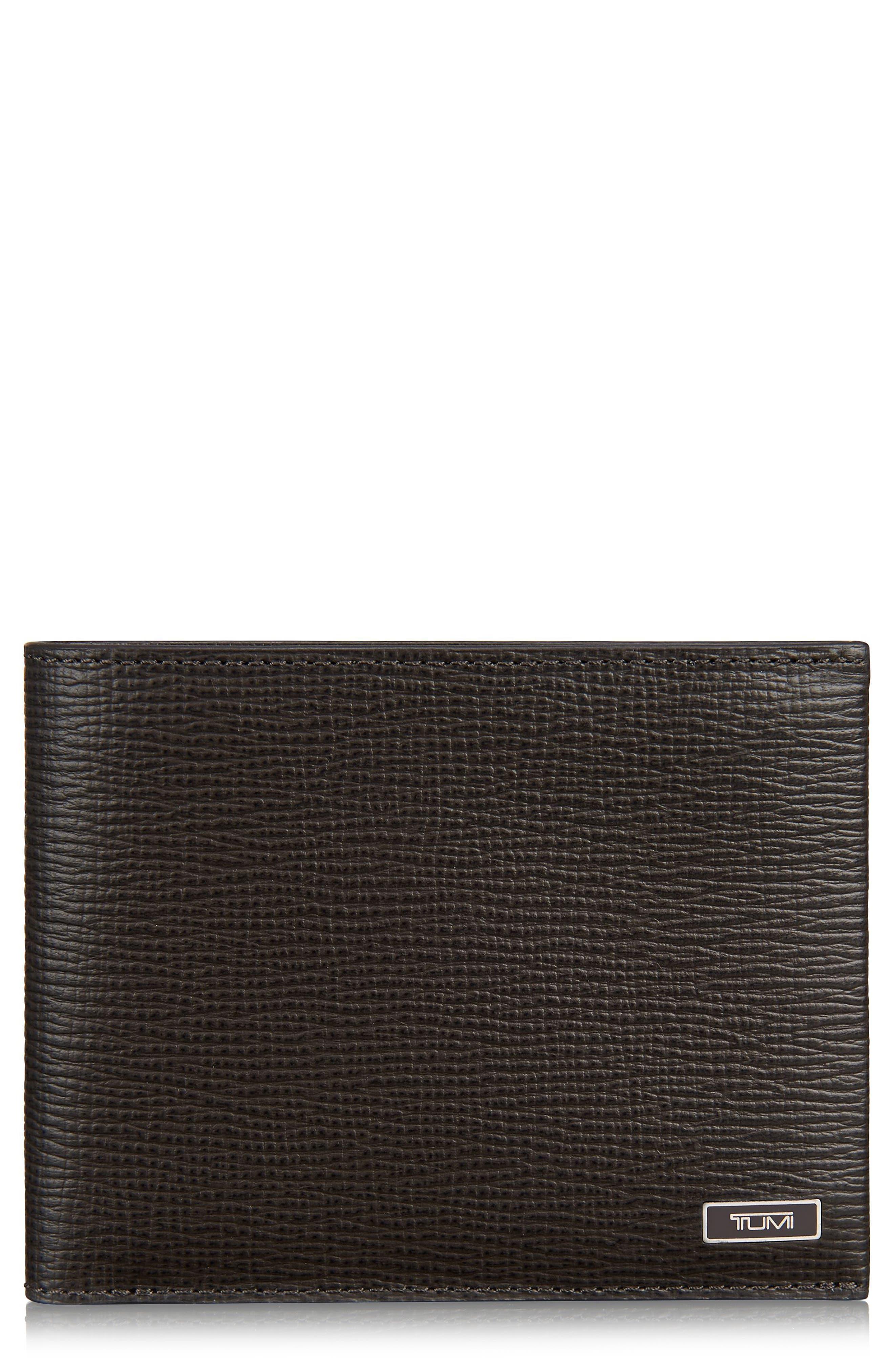 Monaco Leather Wallet,                         Main,                         color,