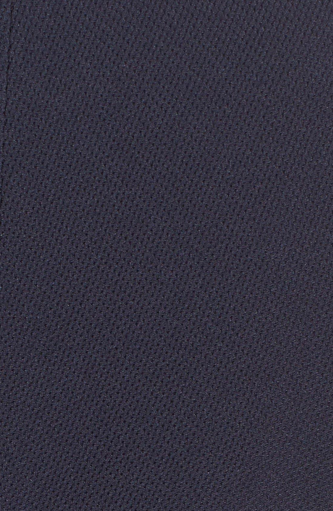 'Damarine' V-Neck Sleeveless Tuxedo Dress,                             Alternate thumbnail 5, color,                             411