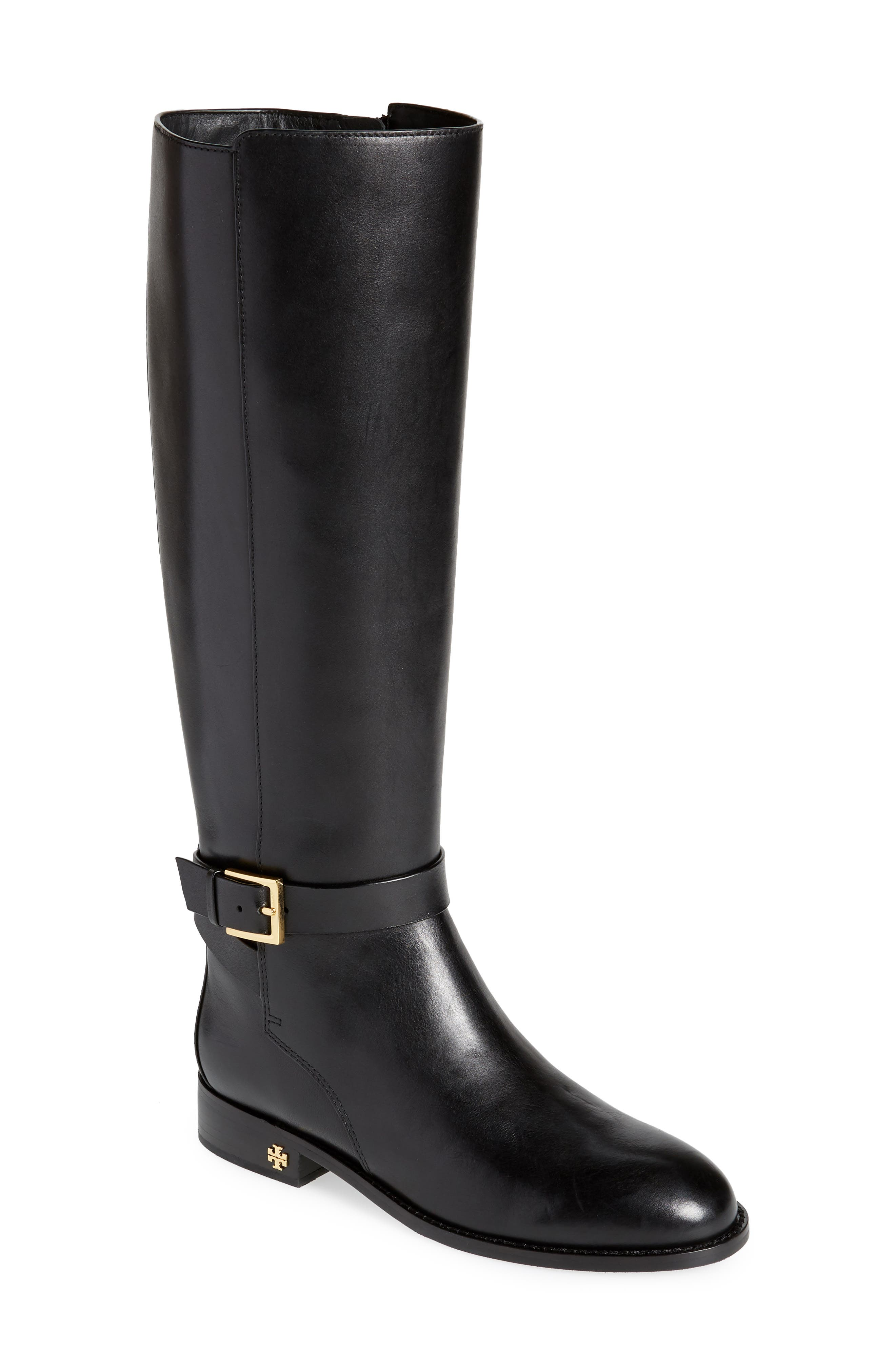 Brooke Knee High Boot,                         Main,                         color, PERFECT BLACK