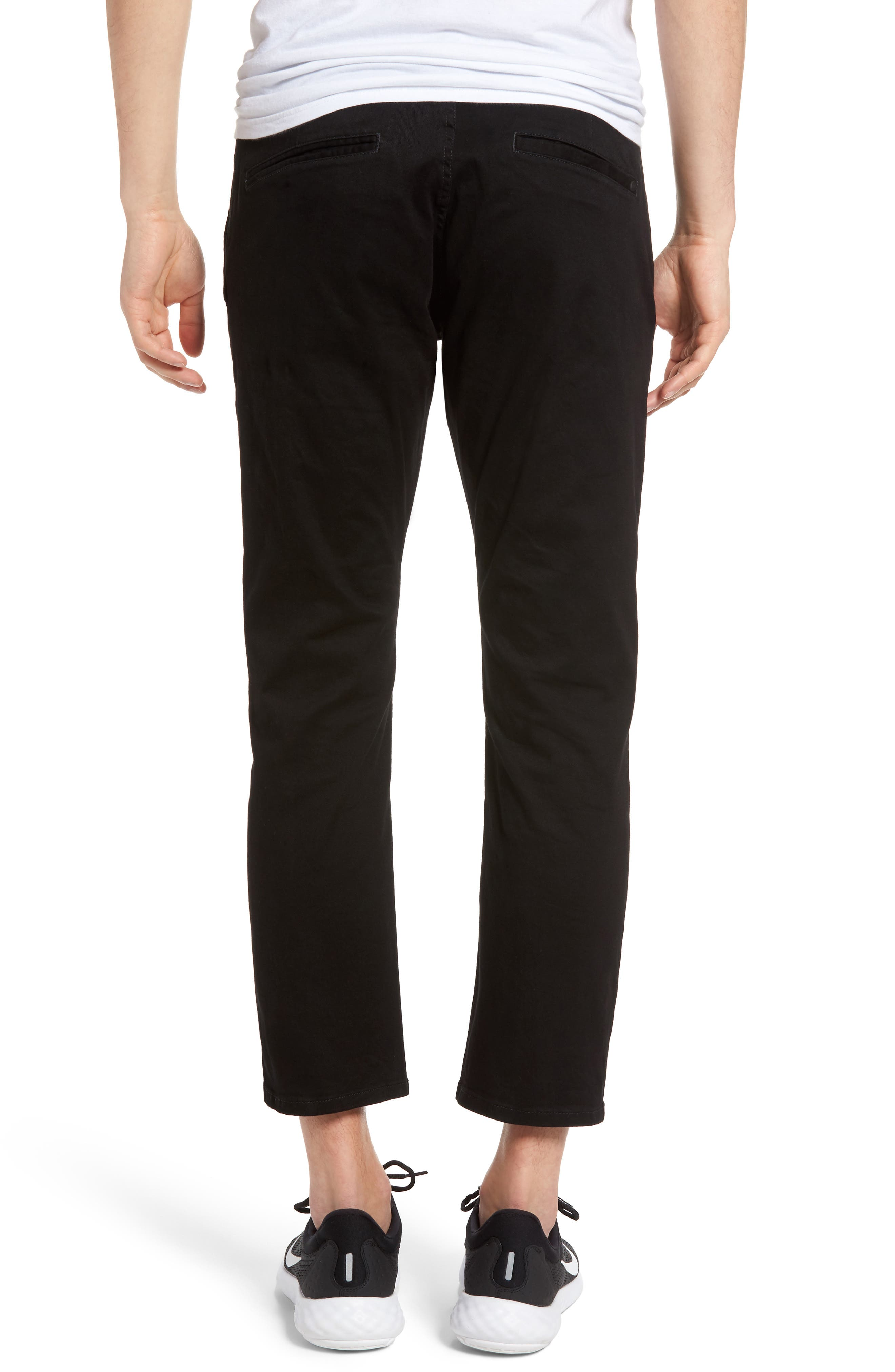 Federal Cropped Chinos,                             Alternate thumbnail 2, color,                             001
