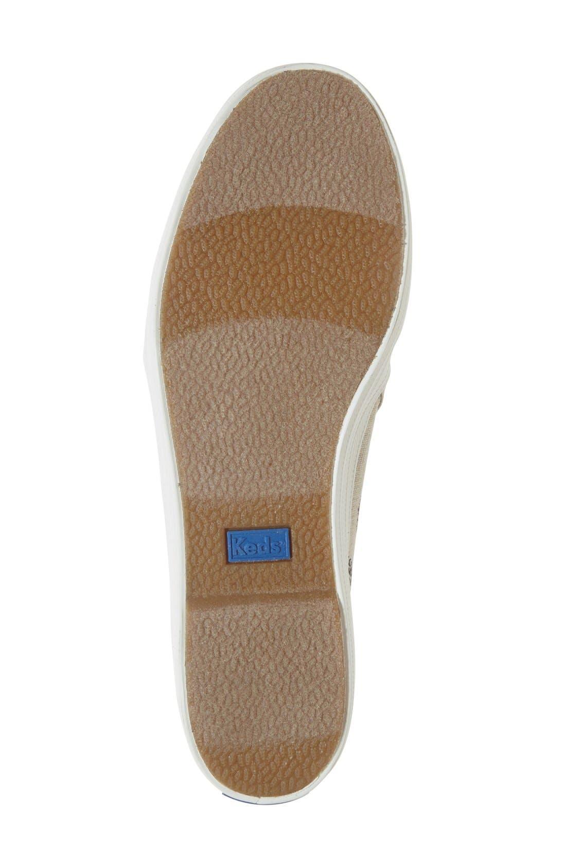 Triple Decker Slip-On Platform Sneaker,                             Alternate thumbnail 32, color,