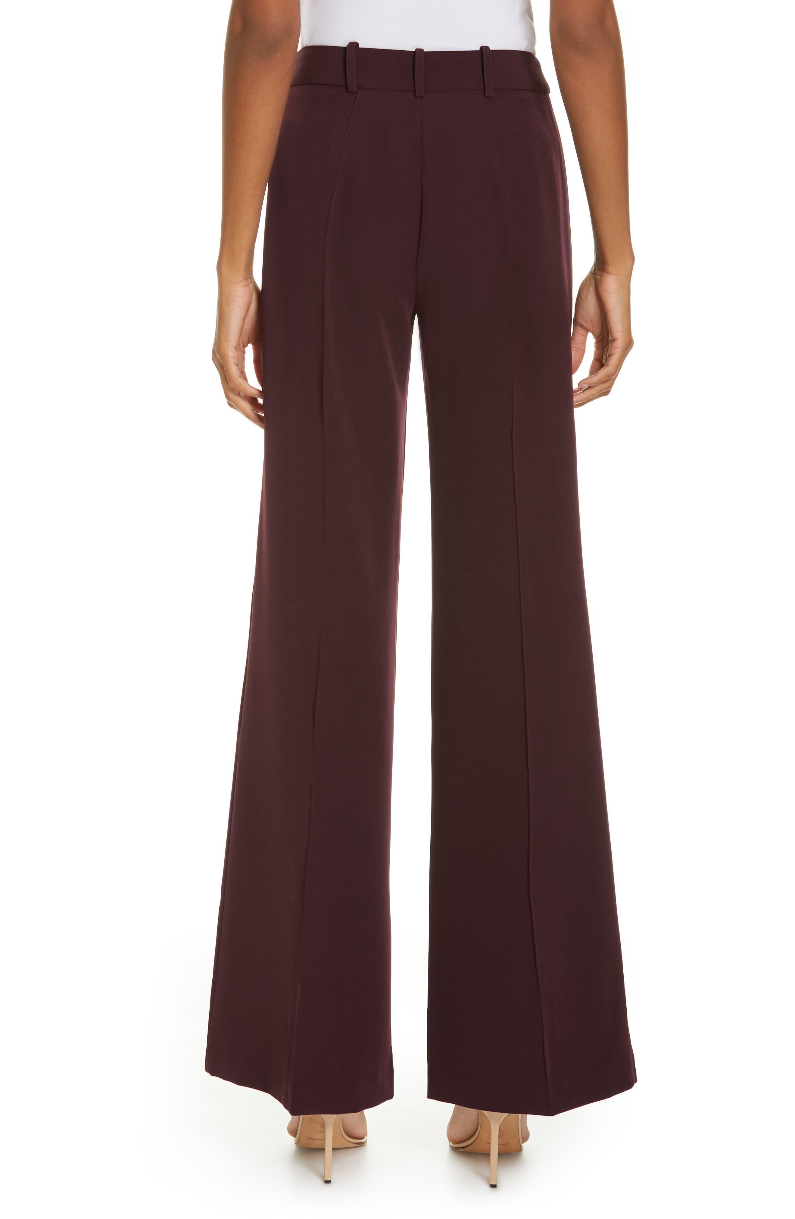 Hayden Seam Front Wide Leg Pants,                             Alternate thumbnail 2, color,                             400