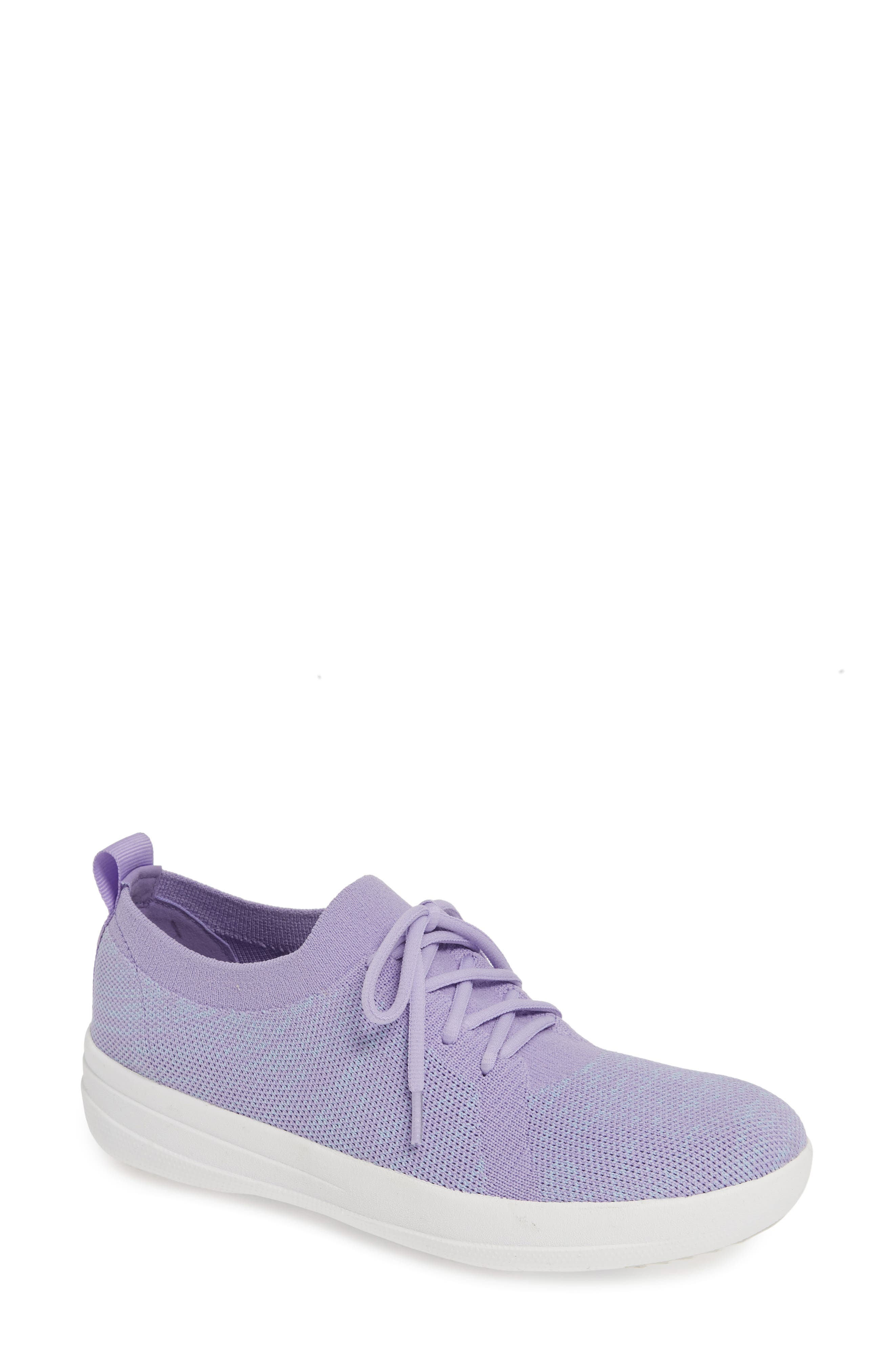 F-Sporty Uberknit<sup>™</sup> Sneaker,                             Main thumbnail 1, color,                             FROSTED LAVENDER MIX