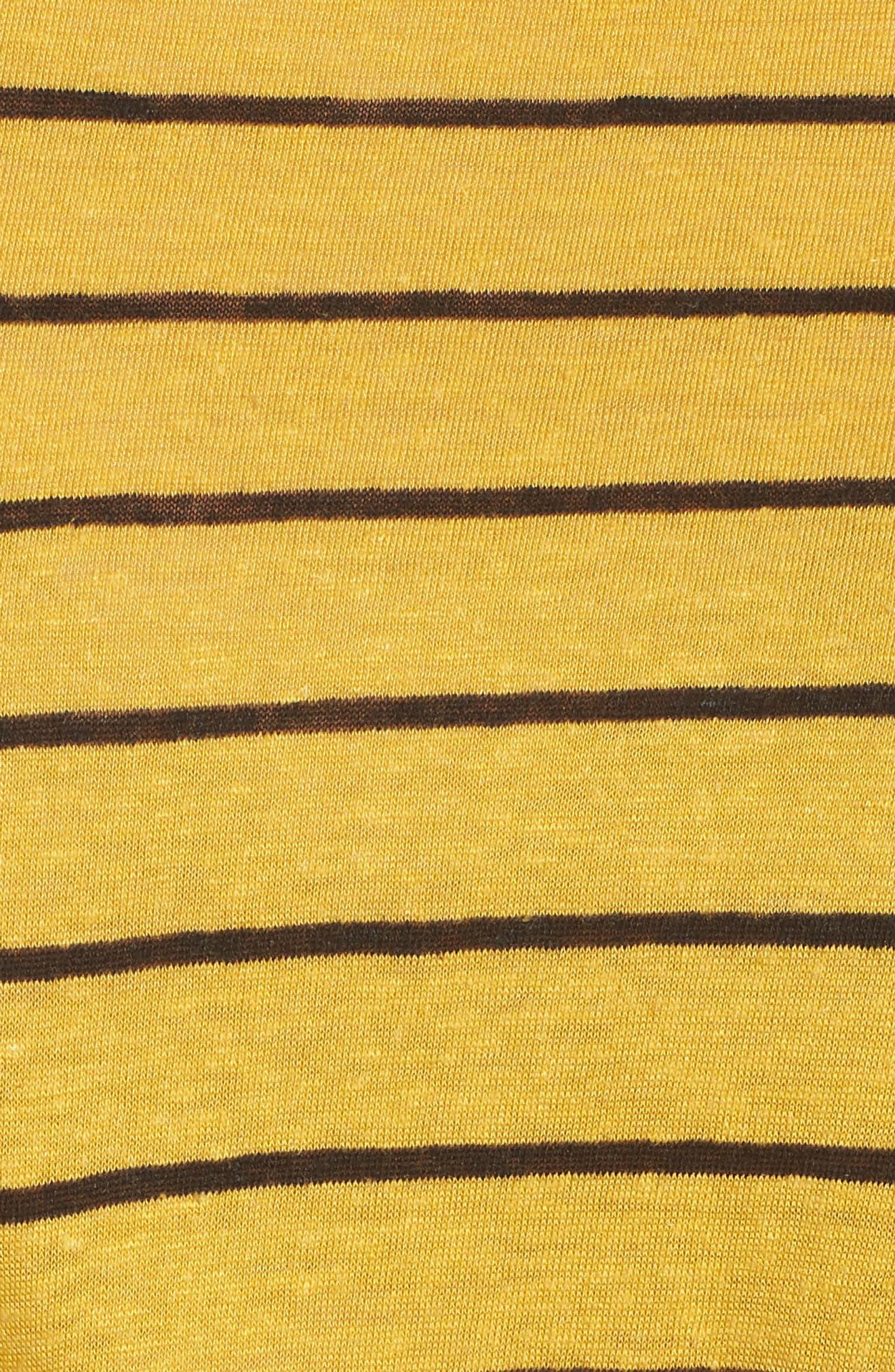 Splice Neck Tie Hem Tee,                             Alternate thumbnail 11, color,