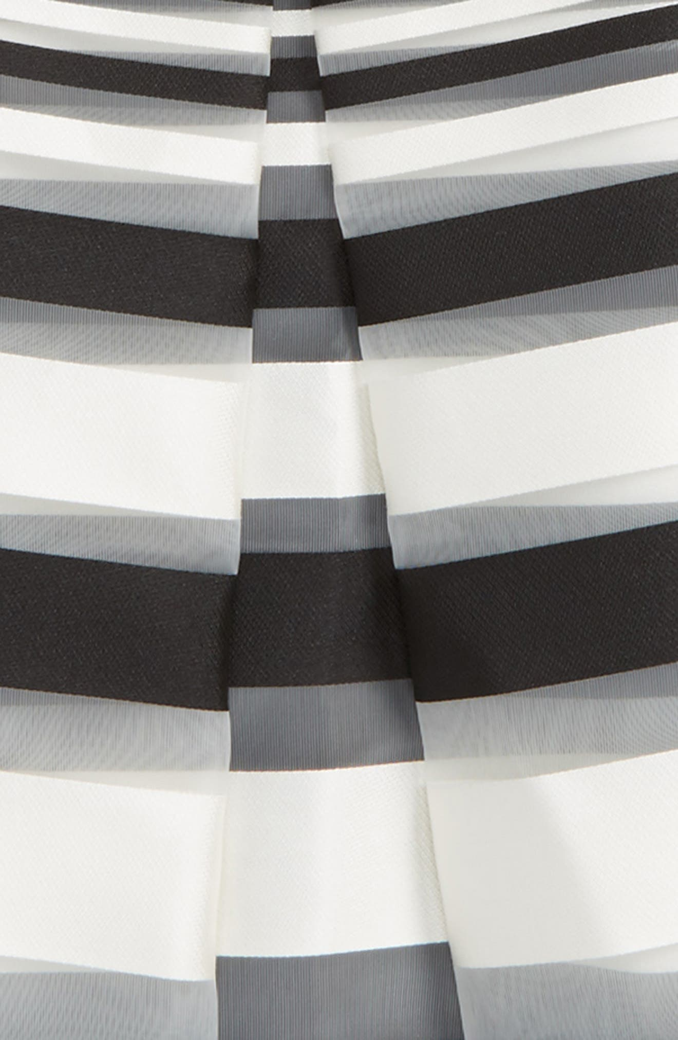 Illusion Stripe Skirt,                             Alternate thumbnail 2, color,                             001