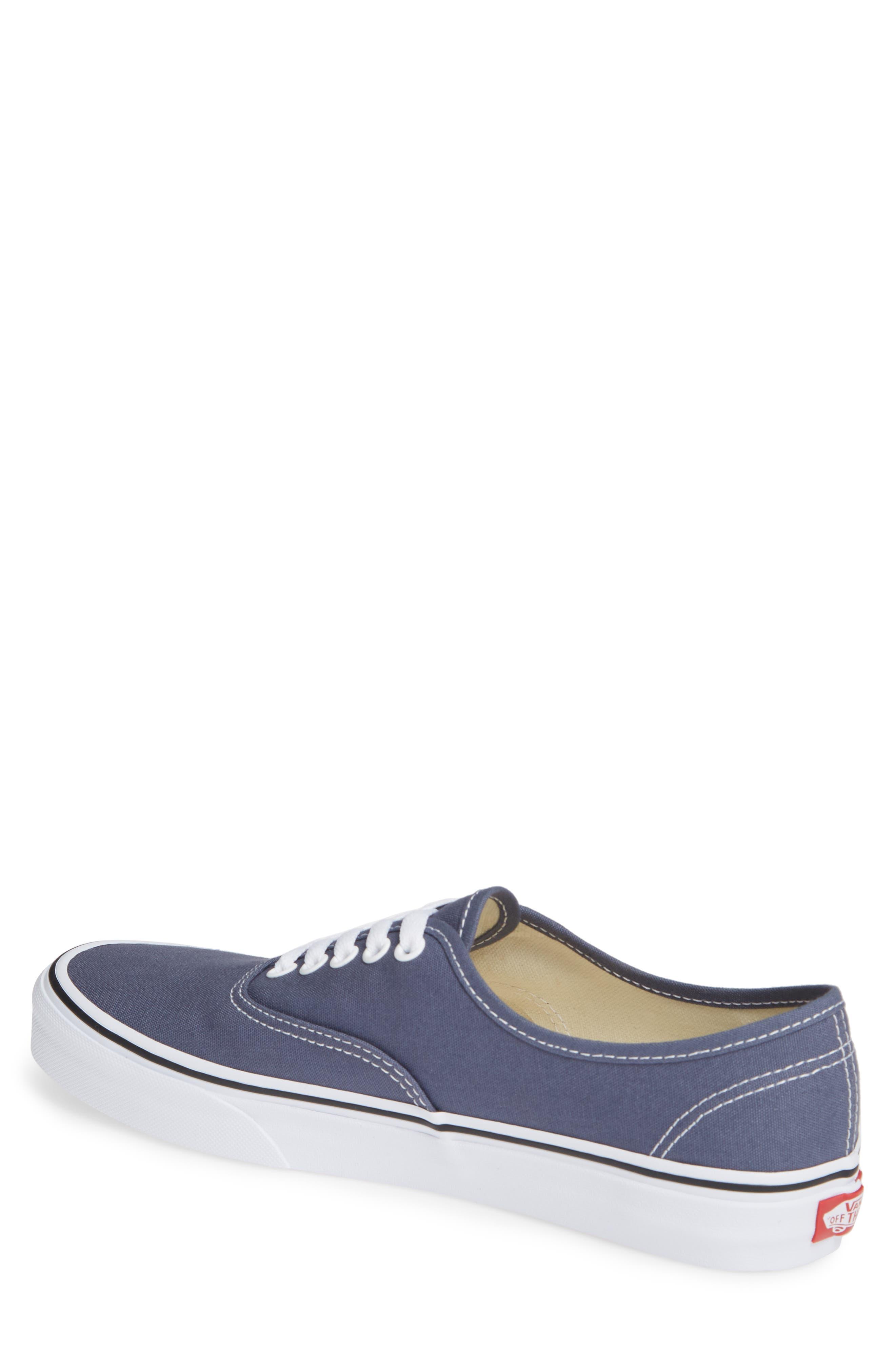 'Authentic' Sneaker,                             Alternate thumbnail 2, color,                             GREY/ TRUE WHITE