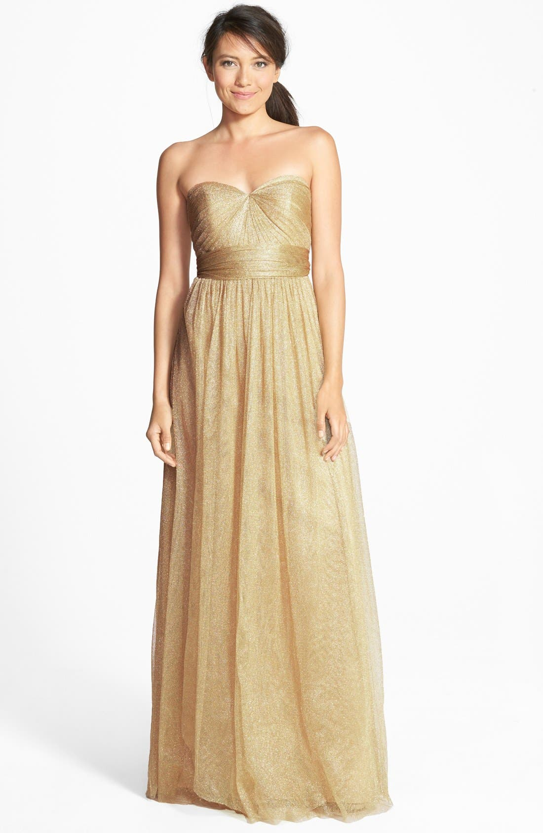 Annabelle Convertible Tulle Column Dress,                             Main thumbnail 30, color,