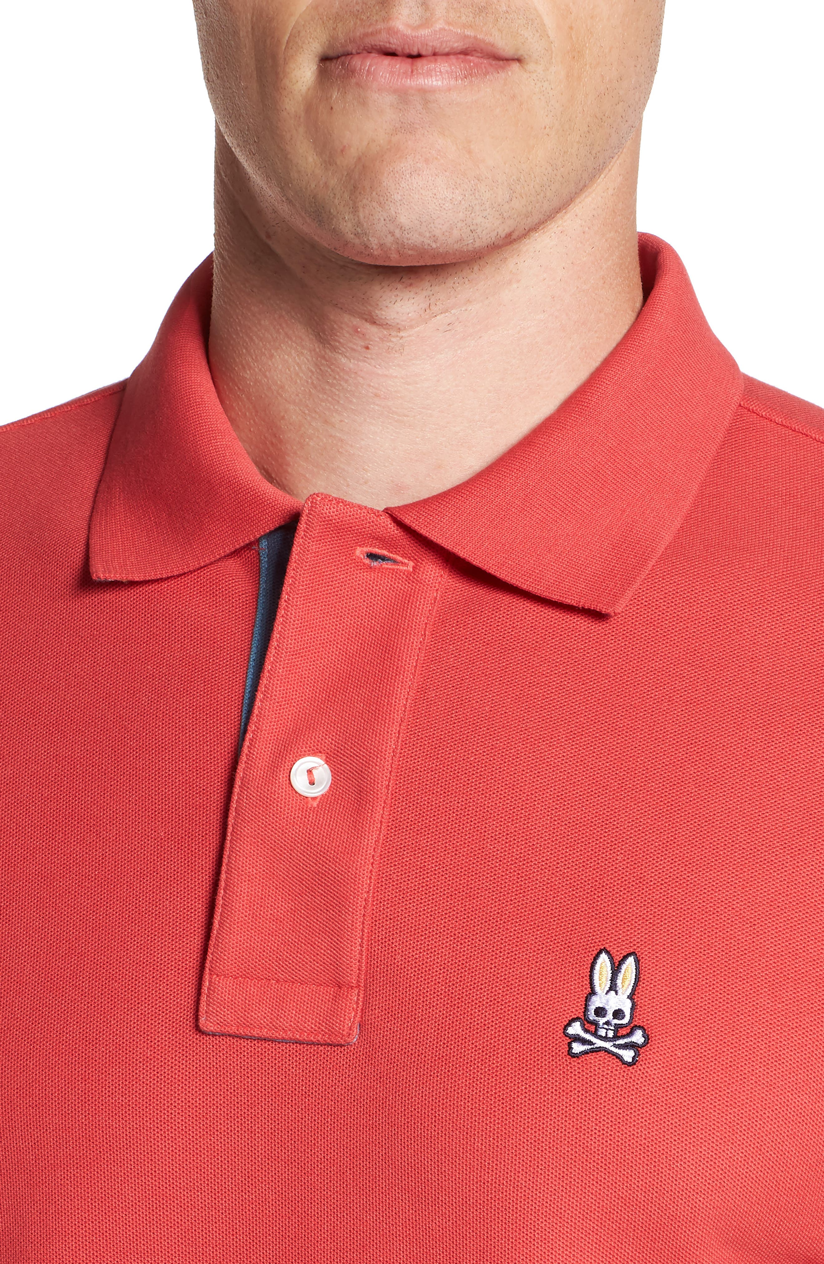 St. Croix Piqué Polo,                             Alternate thumbnail 4, color,                             CASSIS