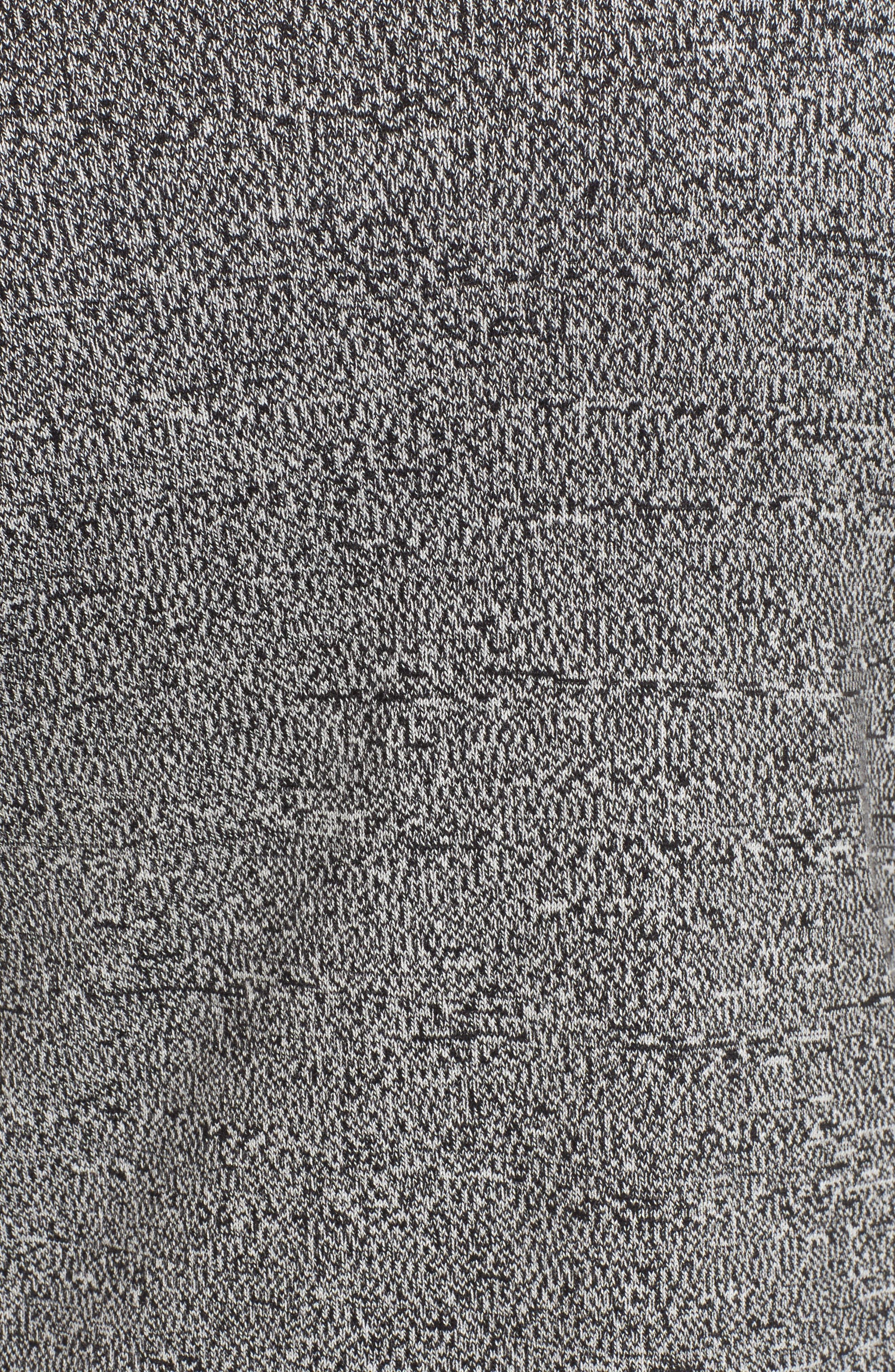 Mixed Cotton Knit Cardigan,                             Alternate thumbnail 5, color,                             005