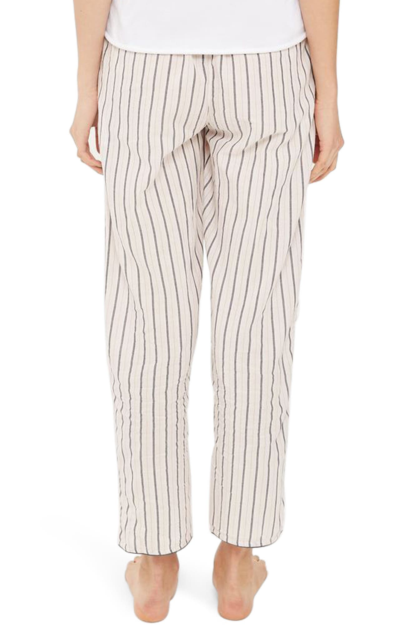 Stripe Pajama Pants,                             Alternate thumbnail 2, color,                             650