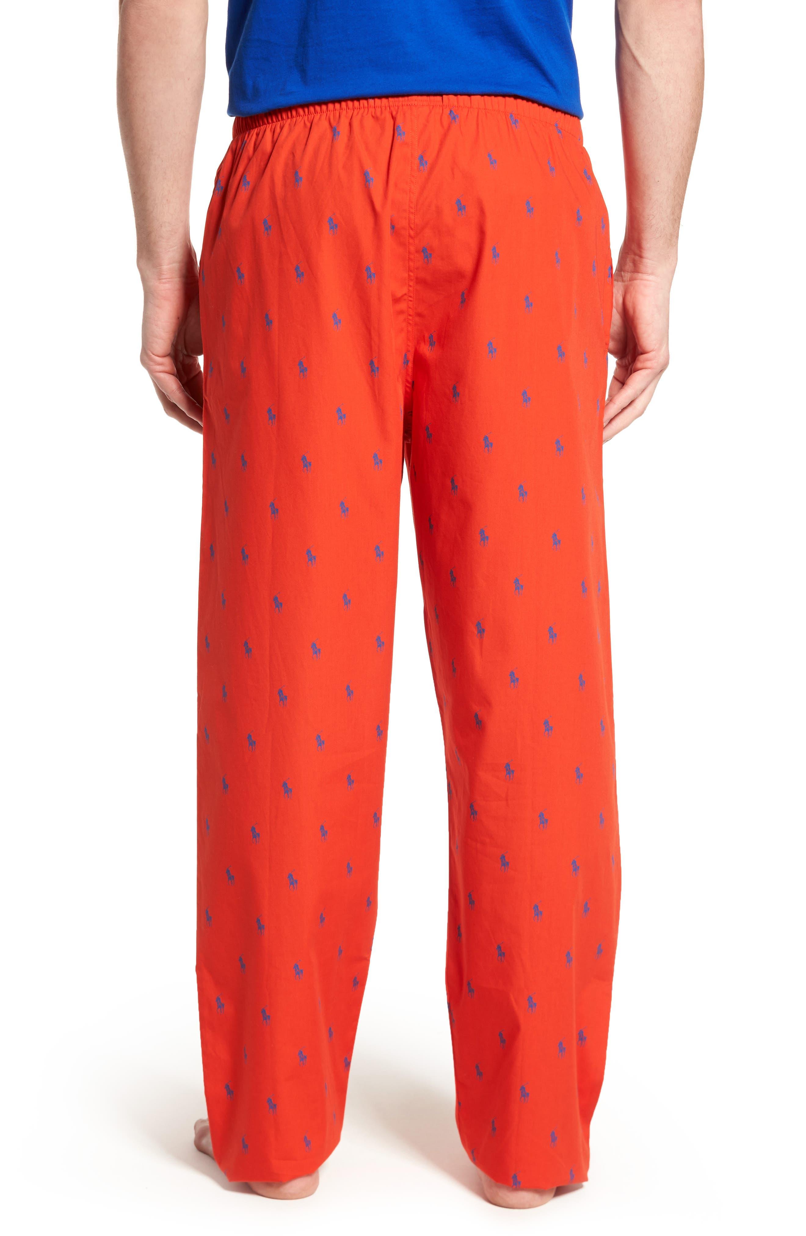 Polo Ralph Lauren Cotton Lounge Pants,                             Alternate thumbnail 10, color,