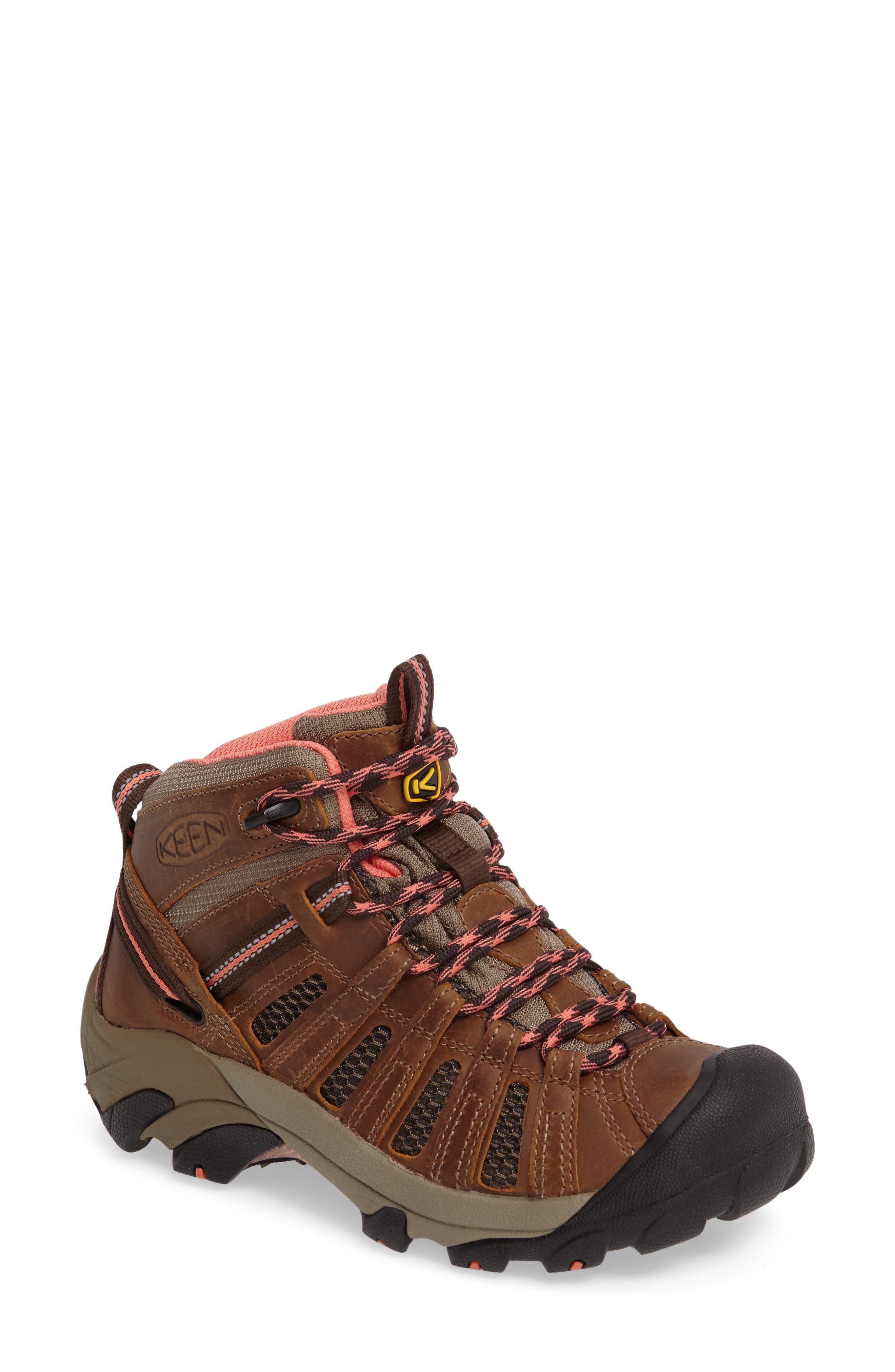'Voyageur Mid' Trail Shoe,                             Main thumbnail 1, color,                             202