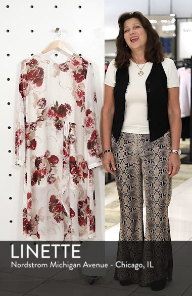 Floral Drape Dress, sales video thumbnail