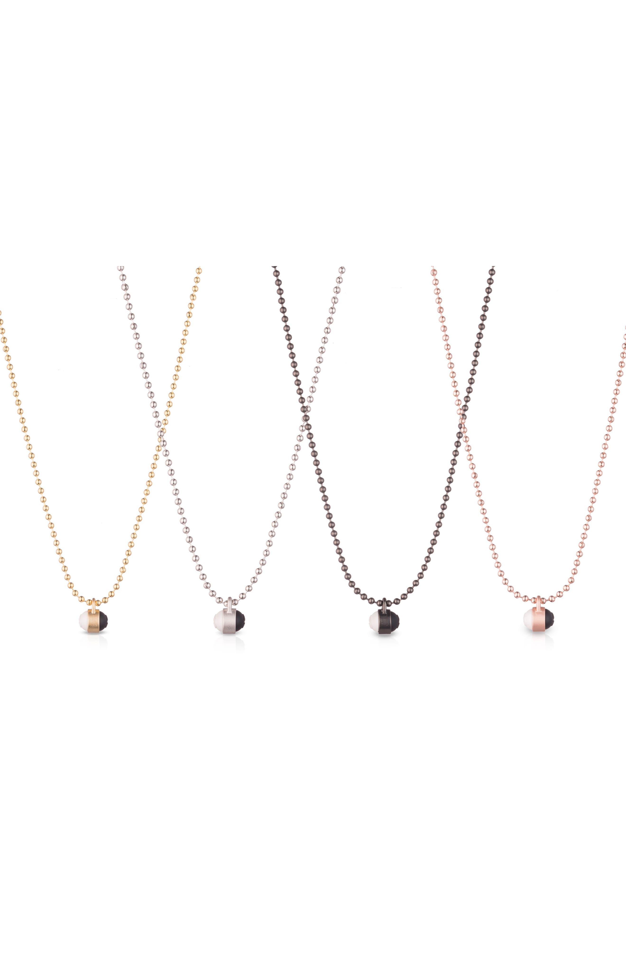 Pendant Ball Chain Necklace,                             Alternate thumbnail 16, color,
