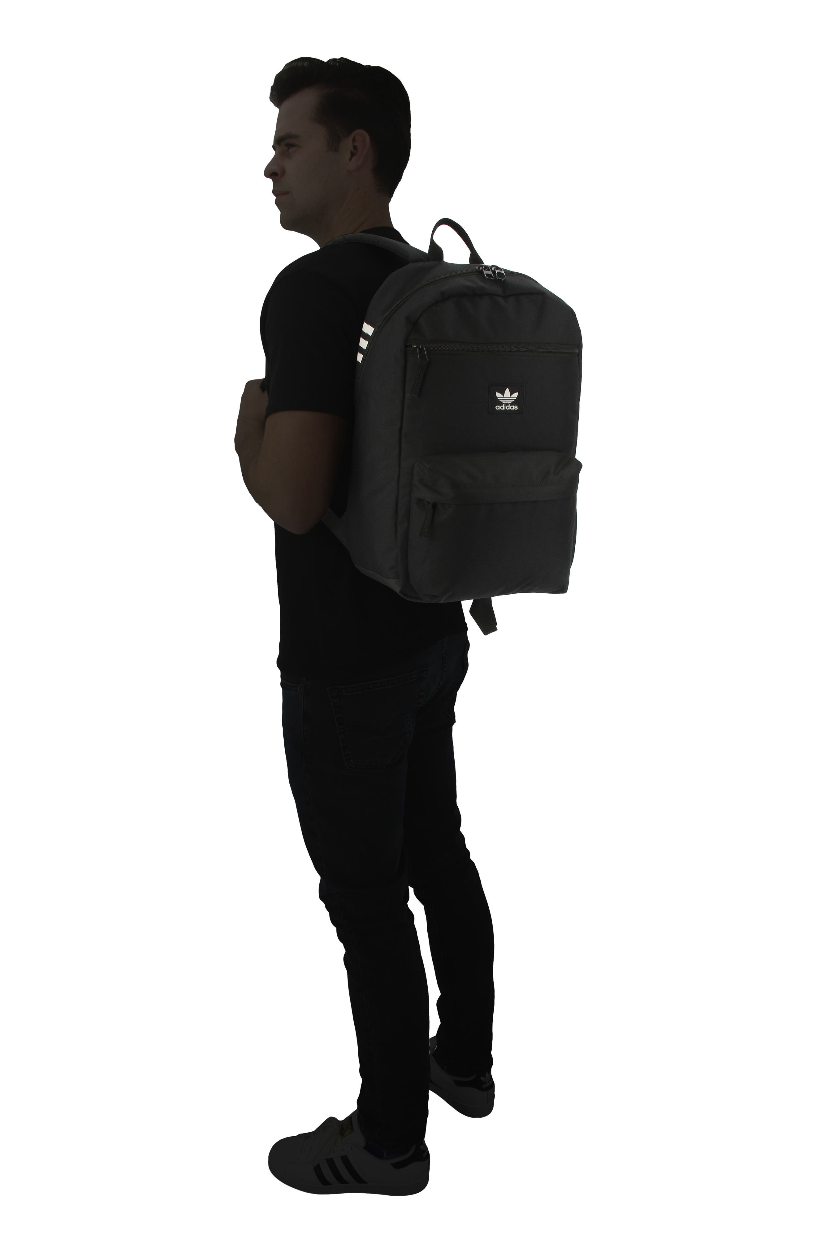 ADIDAS ORIGINALS,                             Nationals Backpack,                             Alternate thumbnail 2, color,                             BLACK