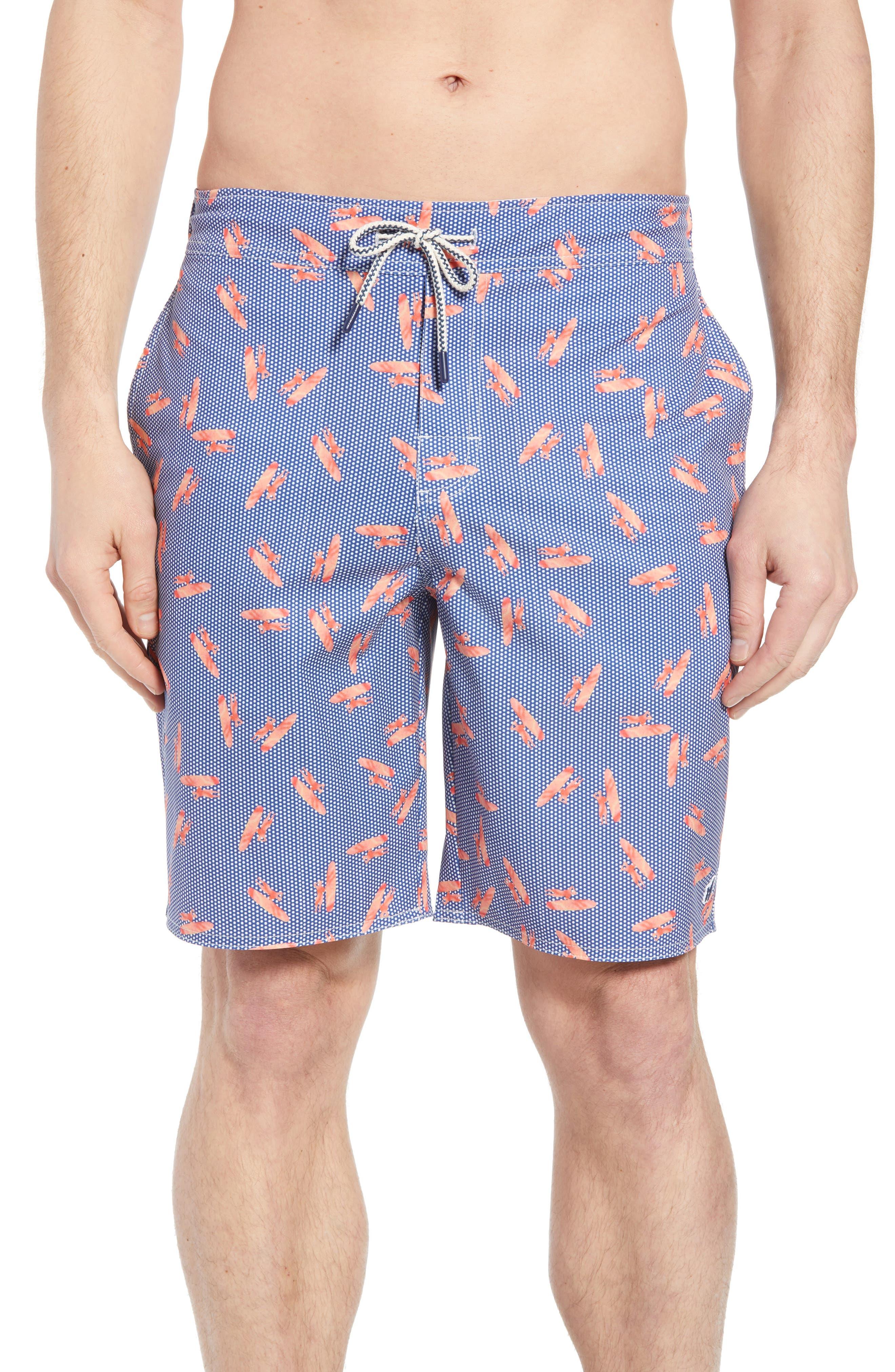Fin Swim Trunks,                         Main,                         color, 411