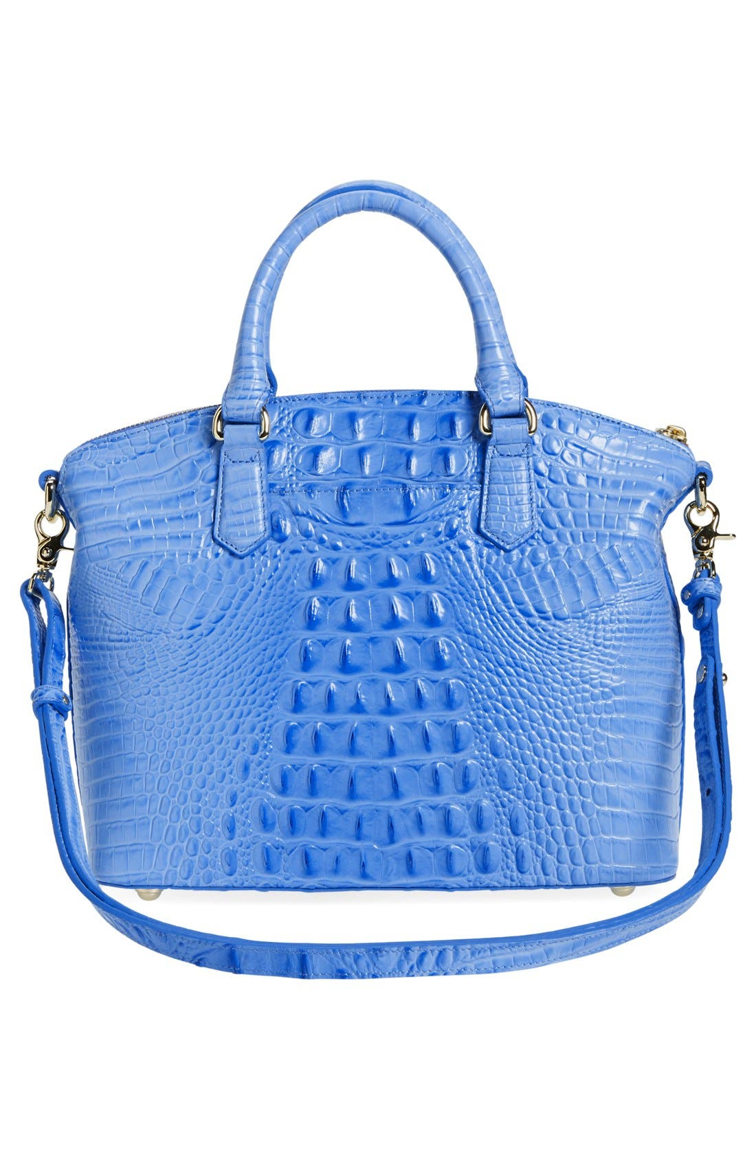 'Medium Duxbury' Croc Embossed Leather Satchel,                             Alternate thumbnail 76, color,