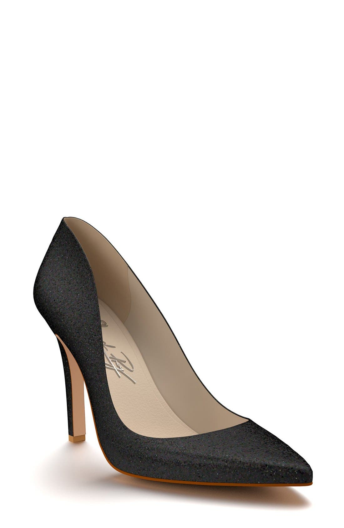 Pointy Toe Pump,                         Main,                         color, 001