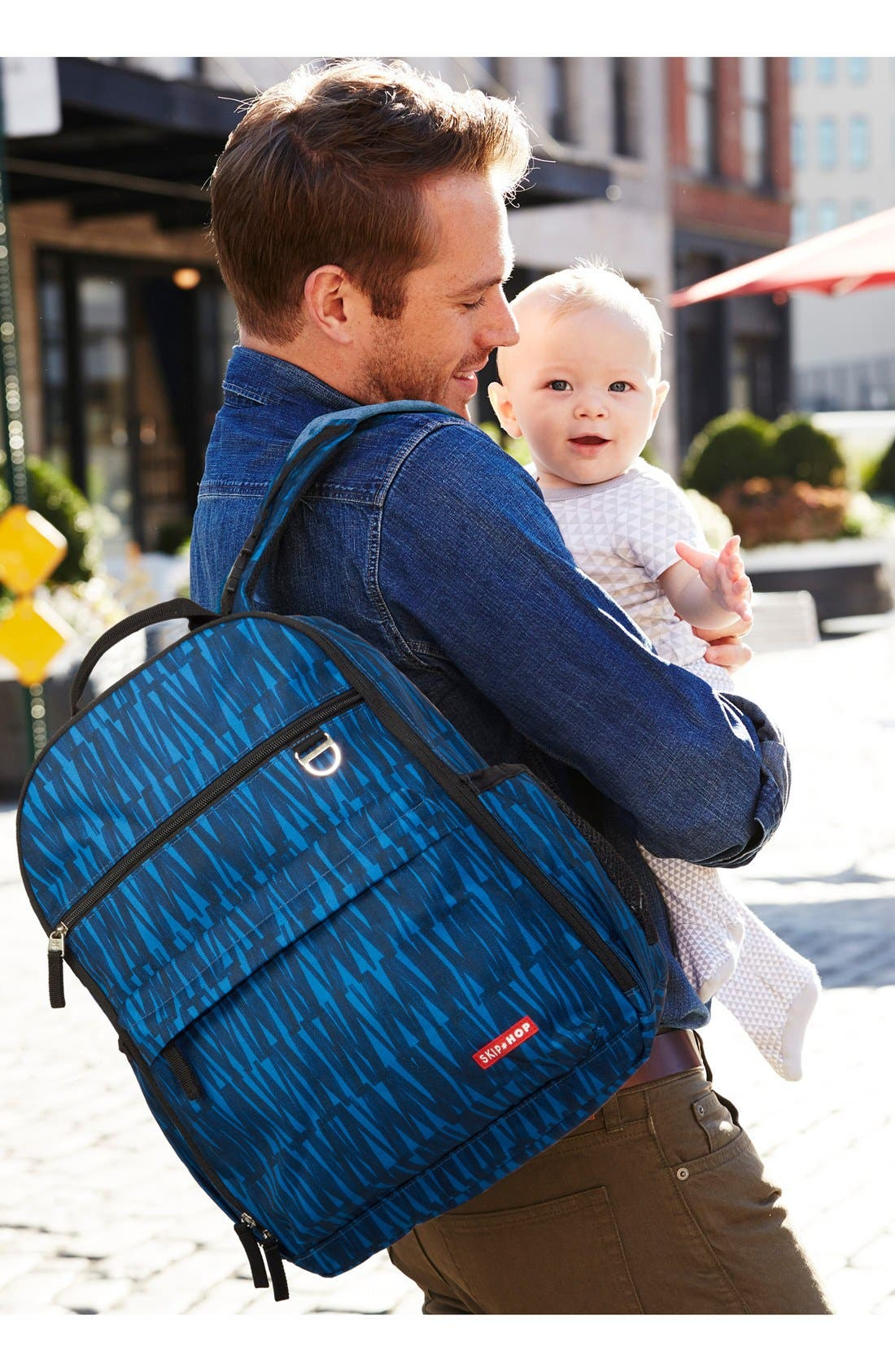 'Duo Signature' Diaper Backpack,                             Alternate thumbnail 24, color,