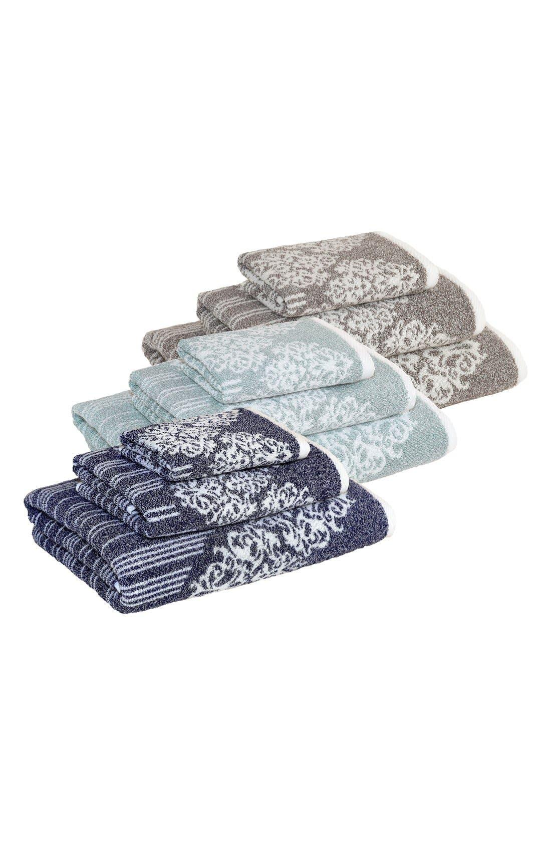 Linum 'Gioia' Bath Towel, Hand Towel & Washcloth,                             Alternate thumbnail 2, color,                             440