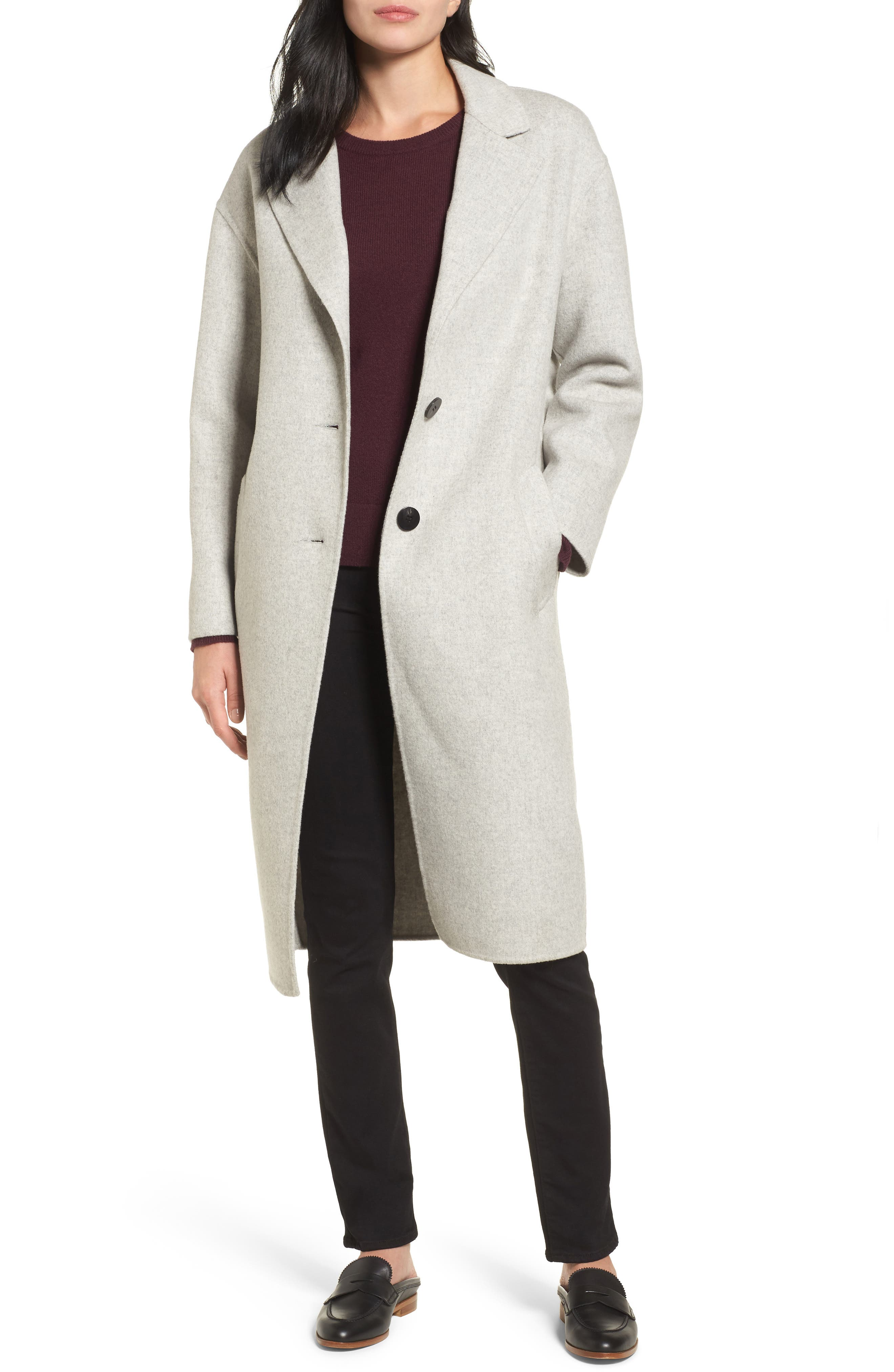 Clean Cocoon Peacoat,                         Main,                         color, 050