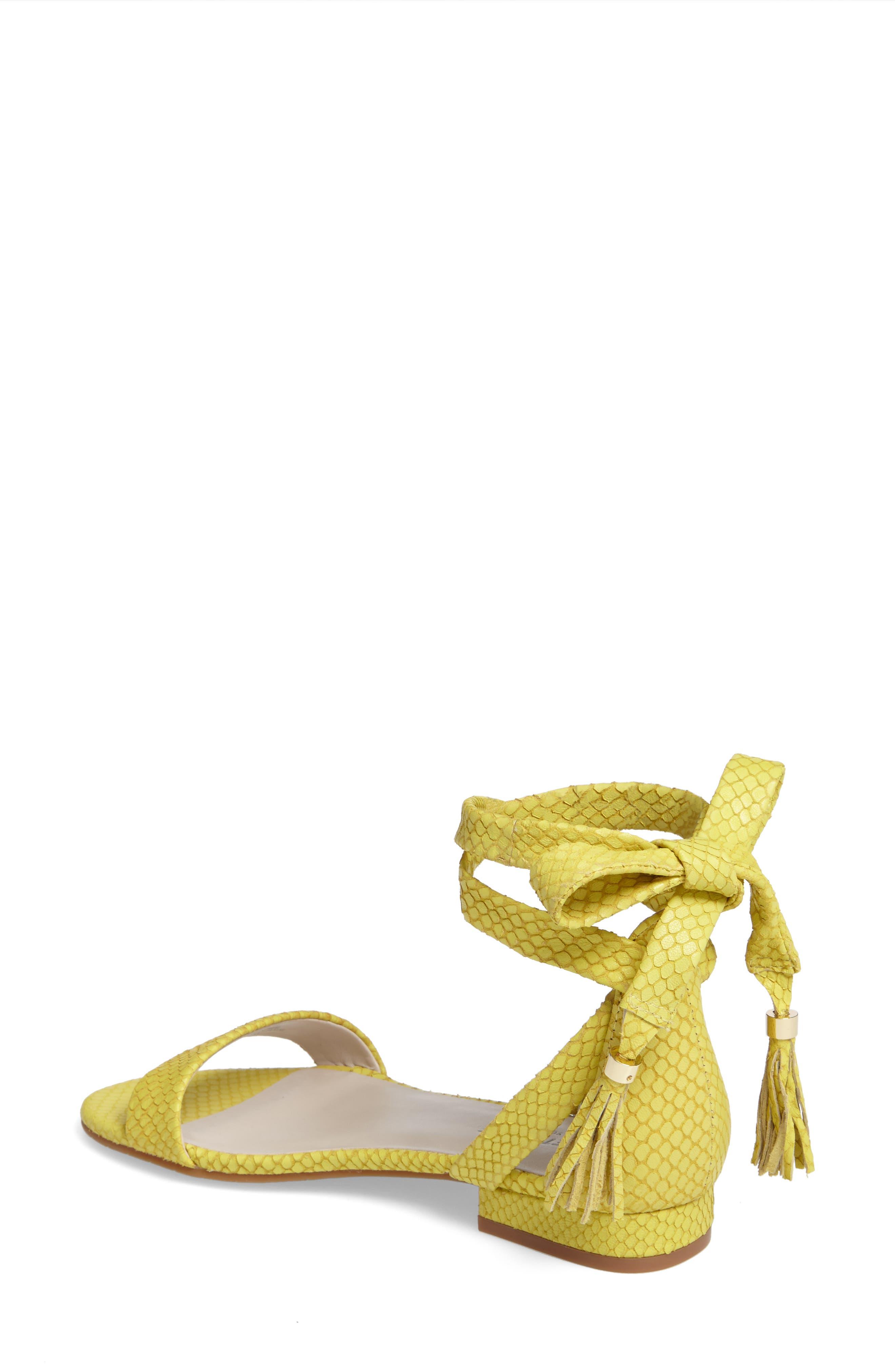 Valen Tassel Lace-Up Sandal,                             Alternate thumbnail 28, color,