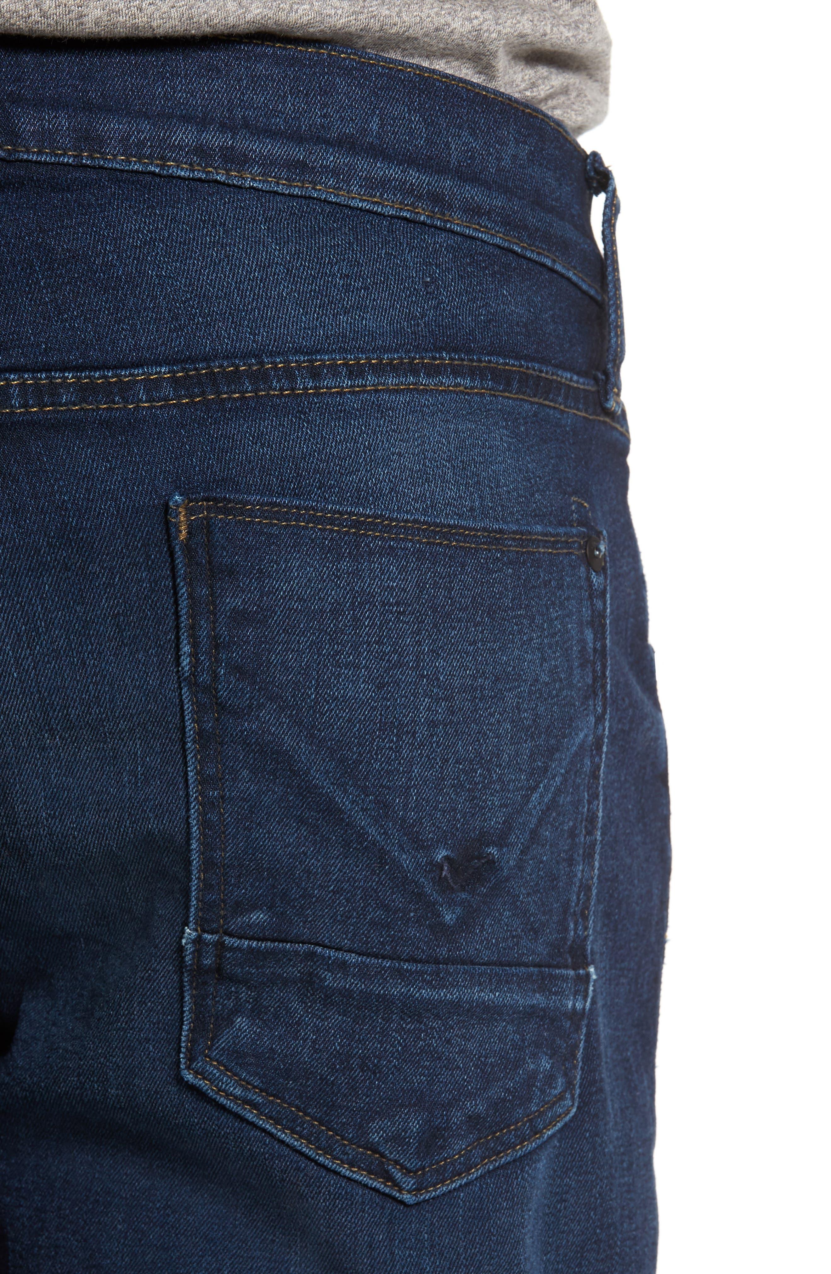 Byron Slim Straight Leg Jeans,                             Alternate thumbnail 4, color,                             401