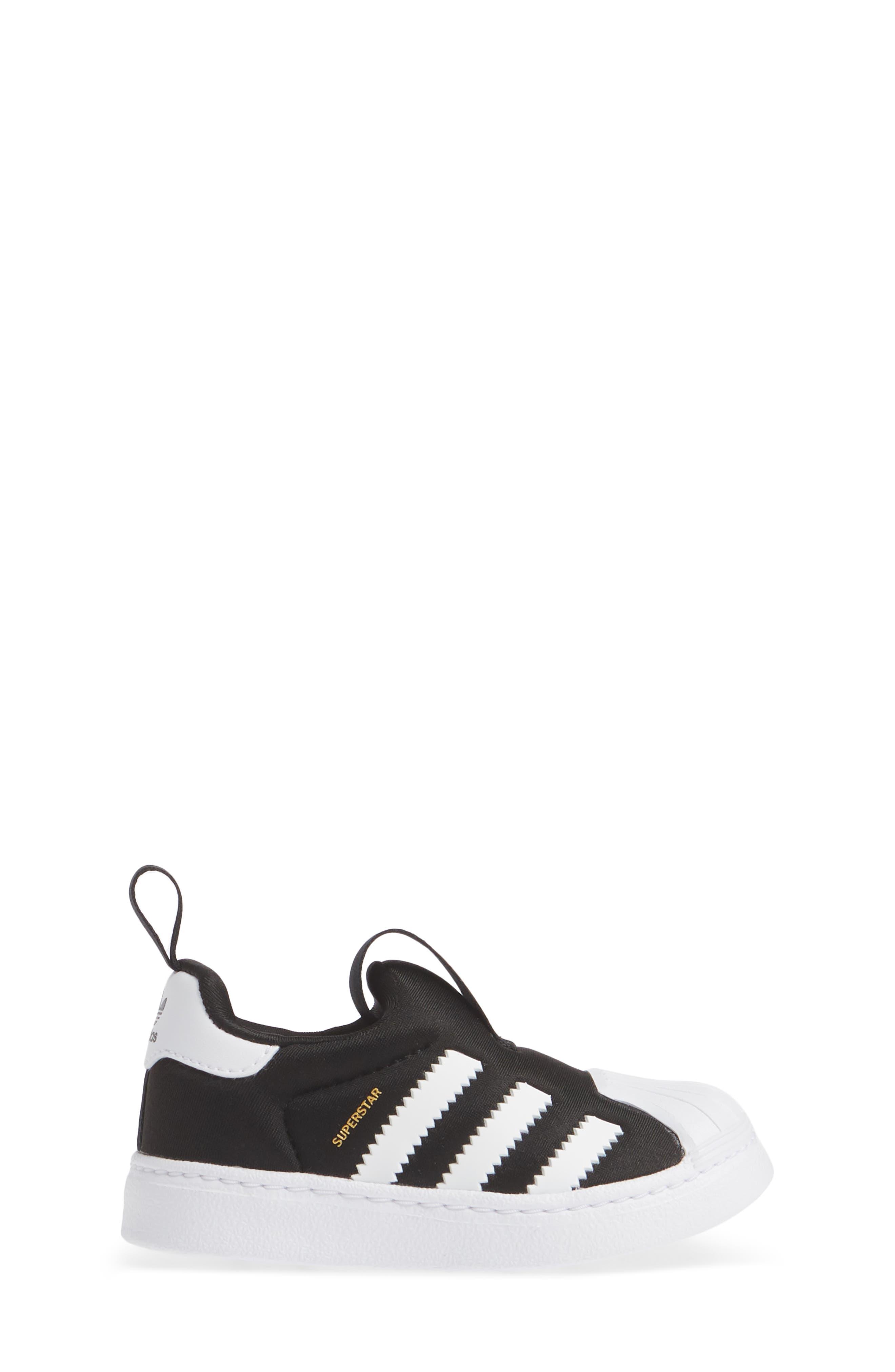 Superstar 360 I Sneaker,                             Alternate thumbnail 3, color,                             CORE BLACK/ WHITE/ GOLD MET