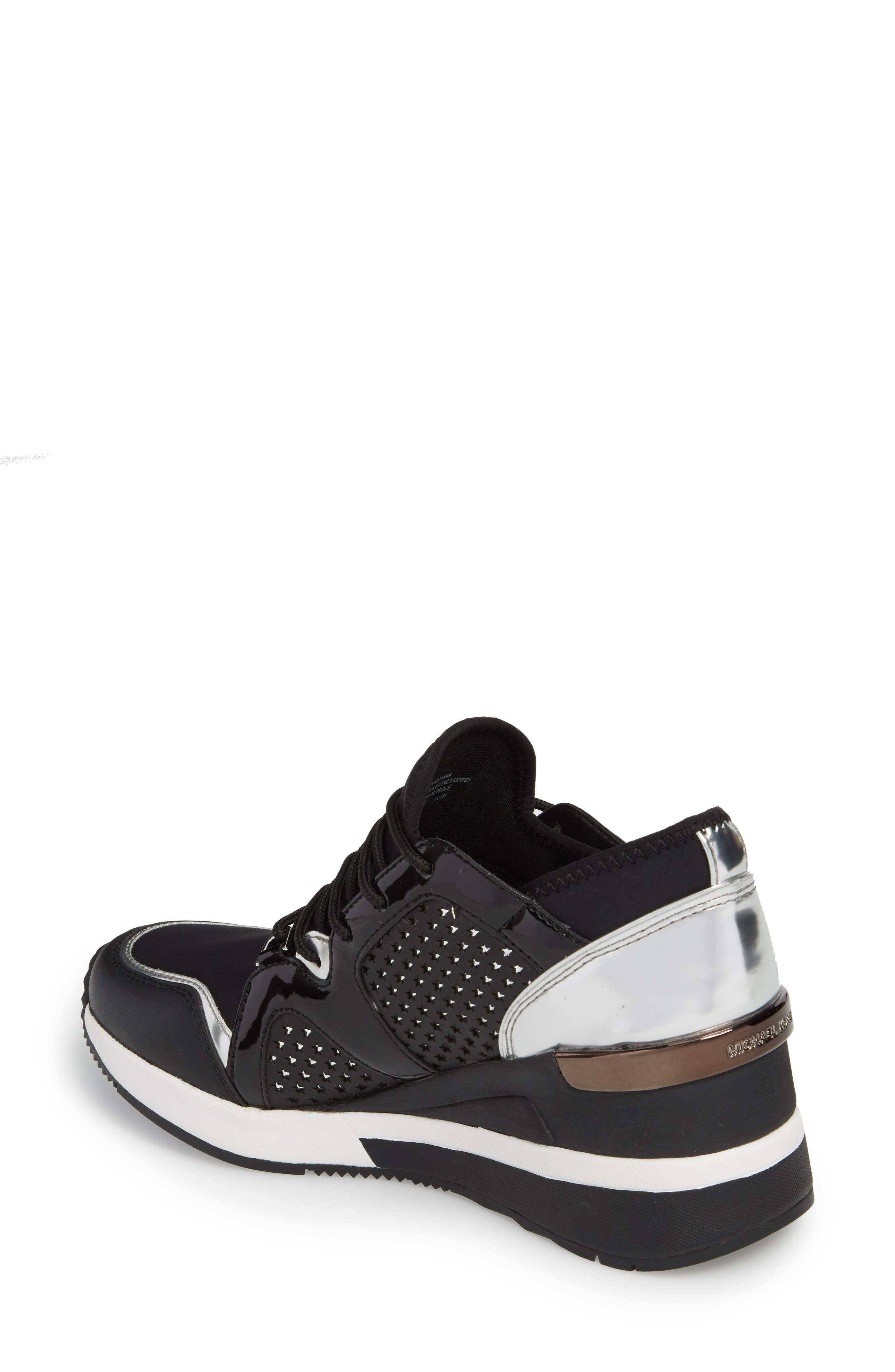Scout Wedge Sneaker,                             Alternate thumbnail 2, color,                             002