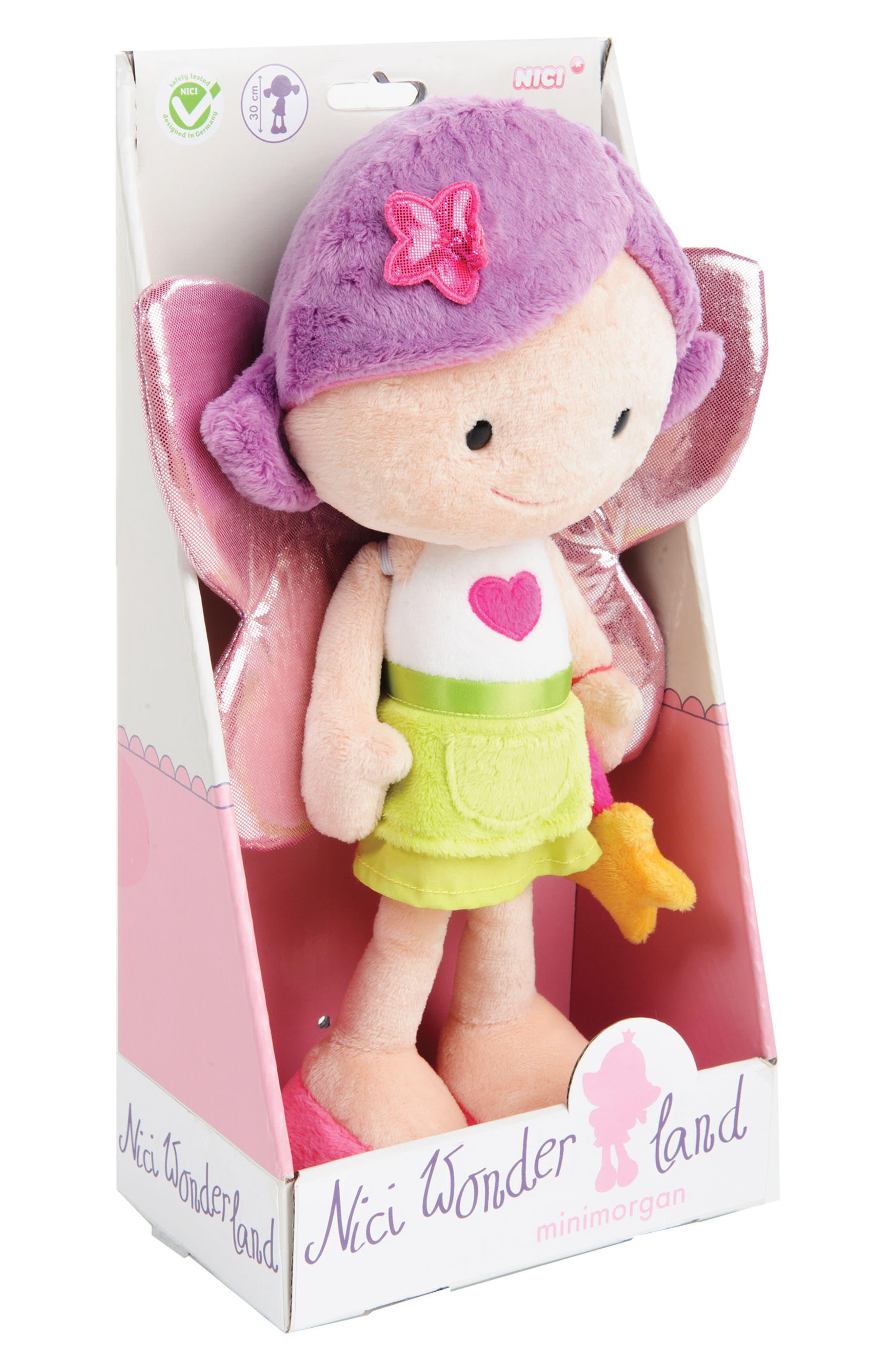 Neat Oh! Nici<sup>®</sup> Wonderland Minimorgan the Fairy Plush Doll,                             Alternate thumbnail 3, color,                             650