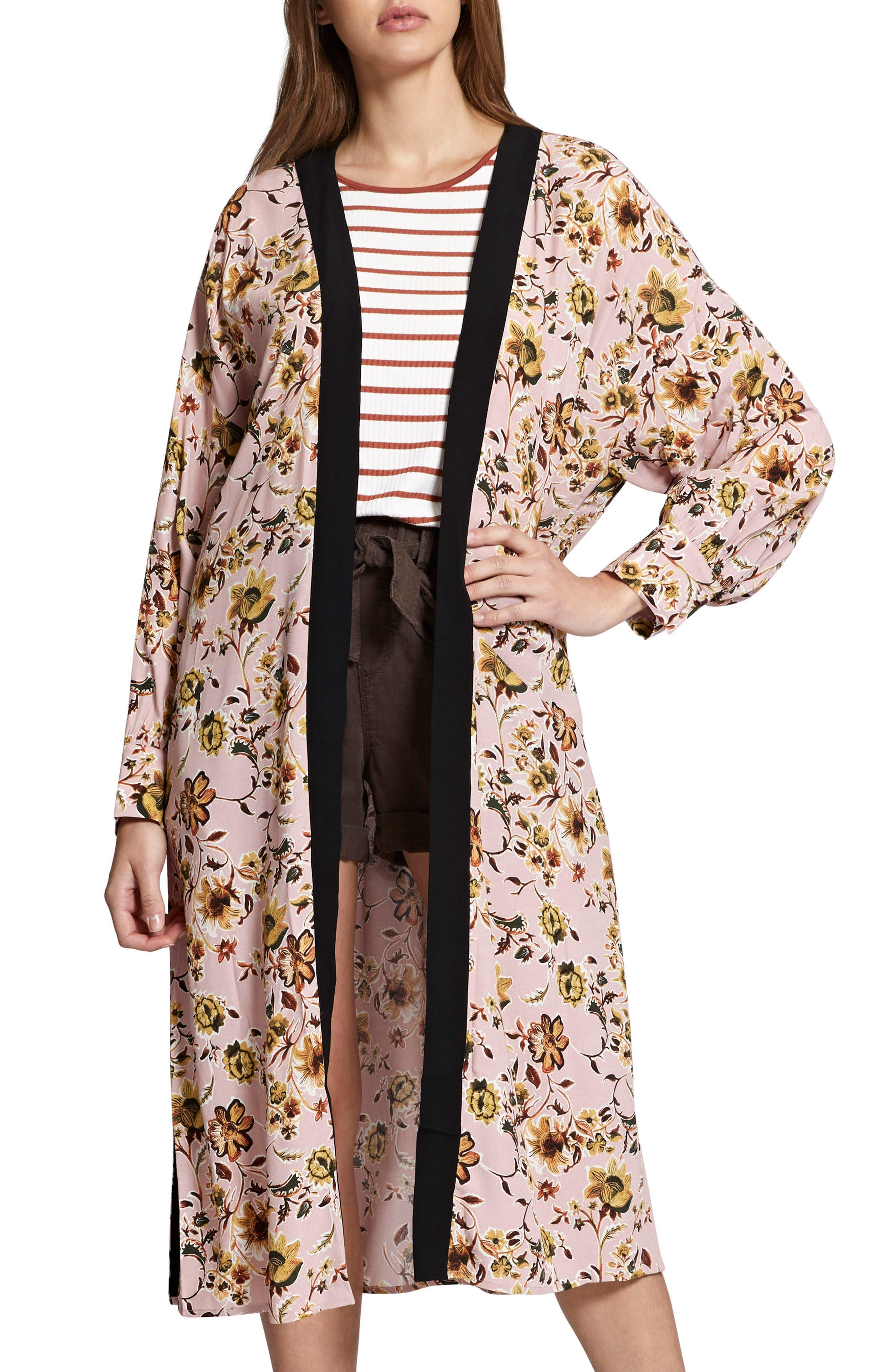 Calico Print Kimono,                             Main thumbnail 2, color,