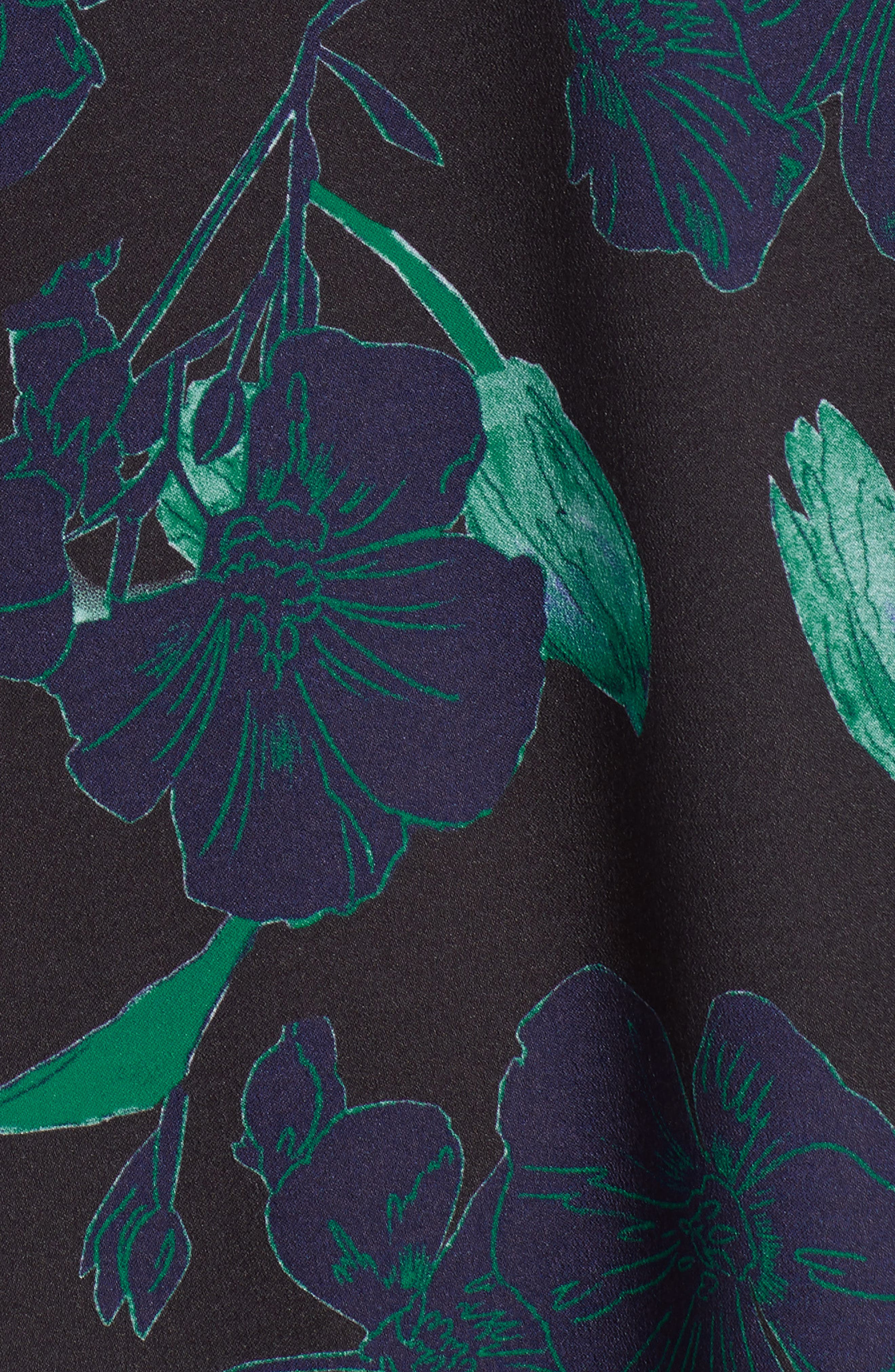 Short Sleeve Ruffle Hem Dress,                             Alternate thumbnail 33, color,