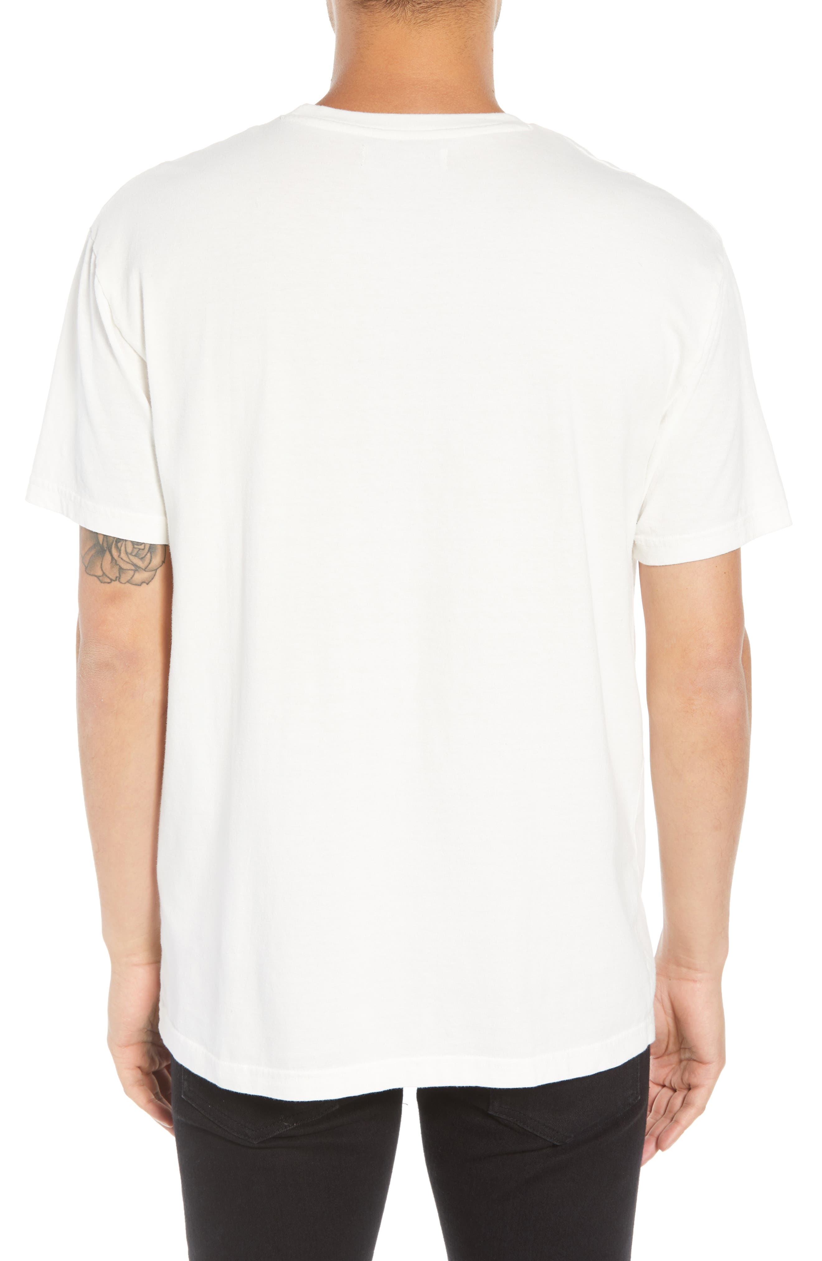 Trust No One Graphic T-Shirt,                             Alternate thumbnail 2, color,                             WHITE