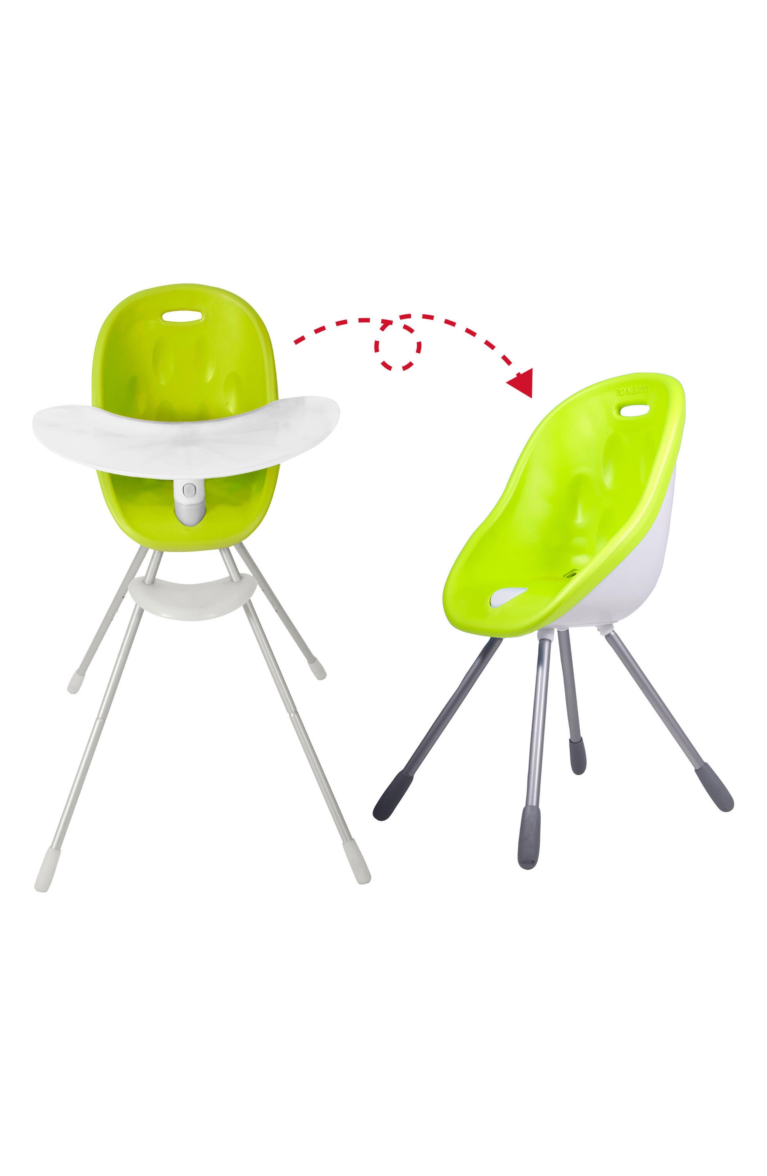 Poppy High Chair,                             Alternate thumbnail 4, color,                             LIME