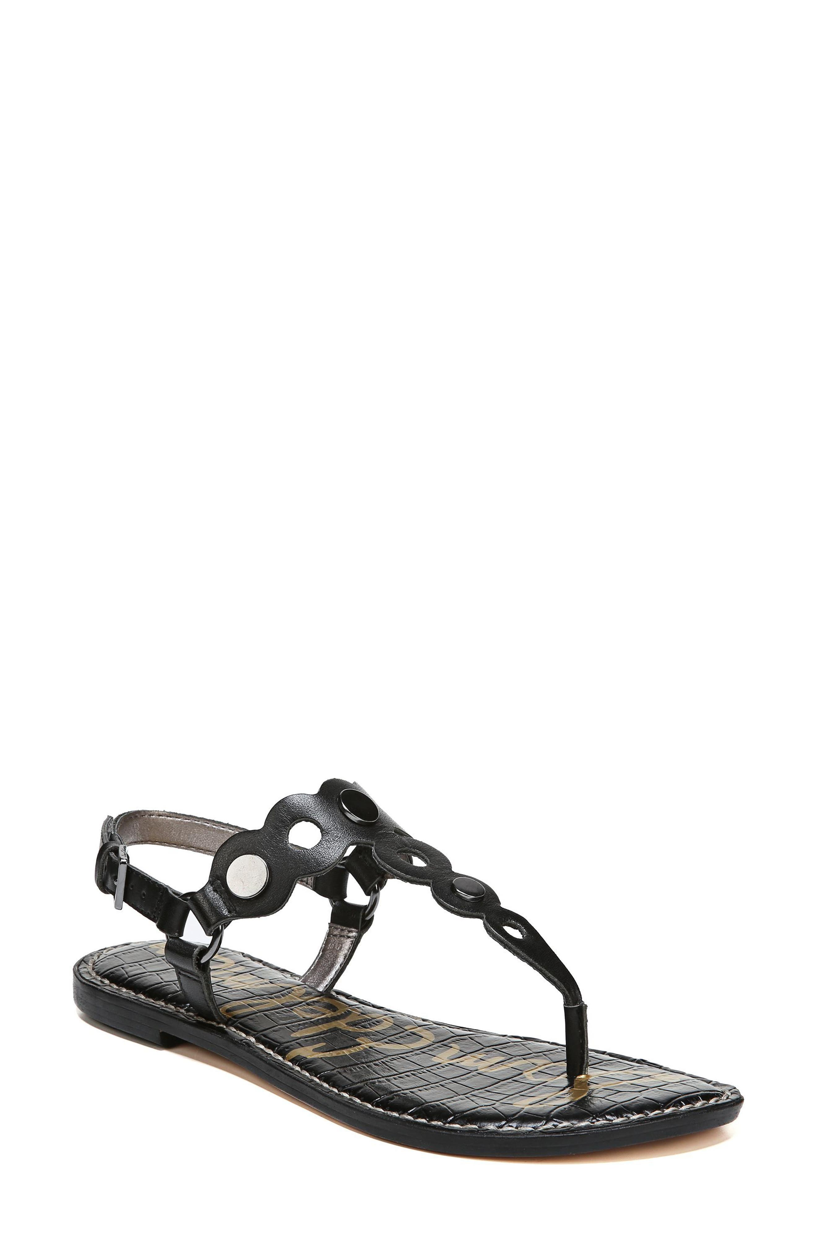 Gilly T-Strap Sandal,                             Main thumbnail 1, color,