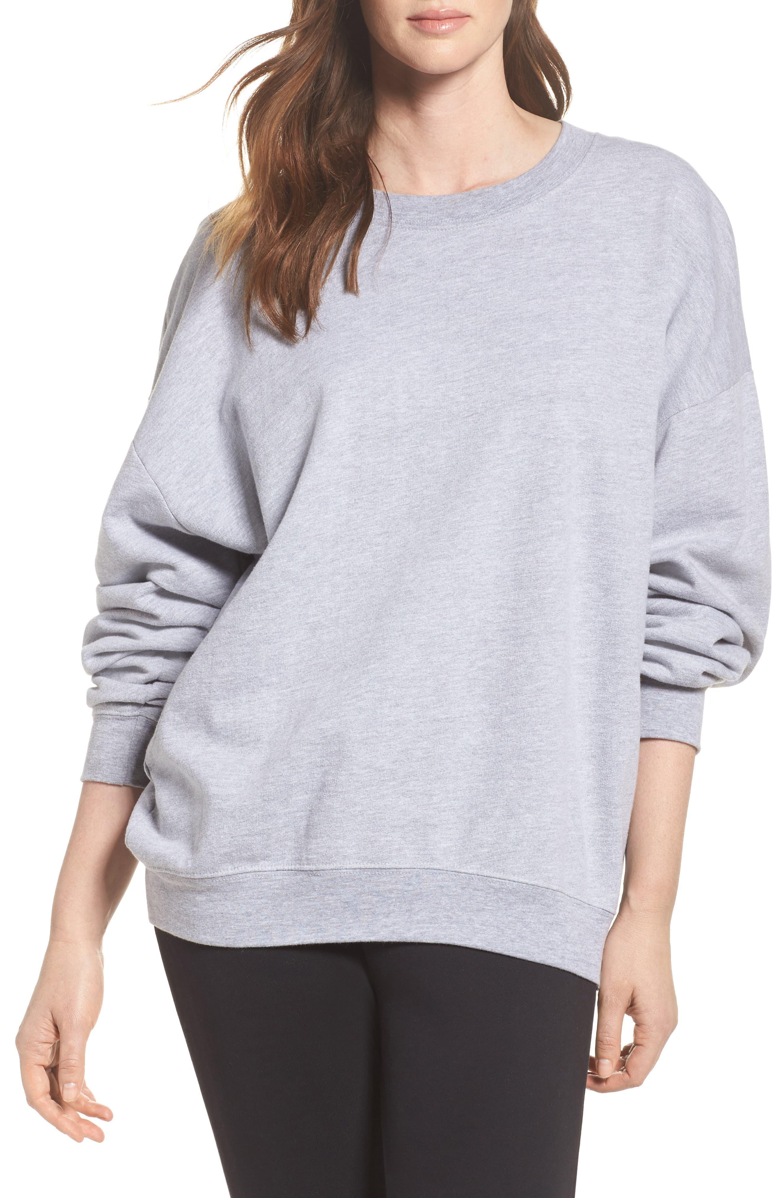 Ellstan Oversize Boyfriend Sweatshirt,                         Main,                         color, 035