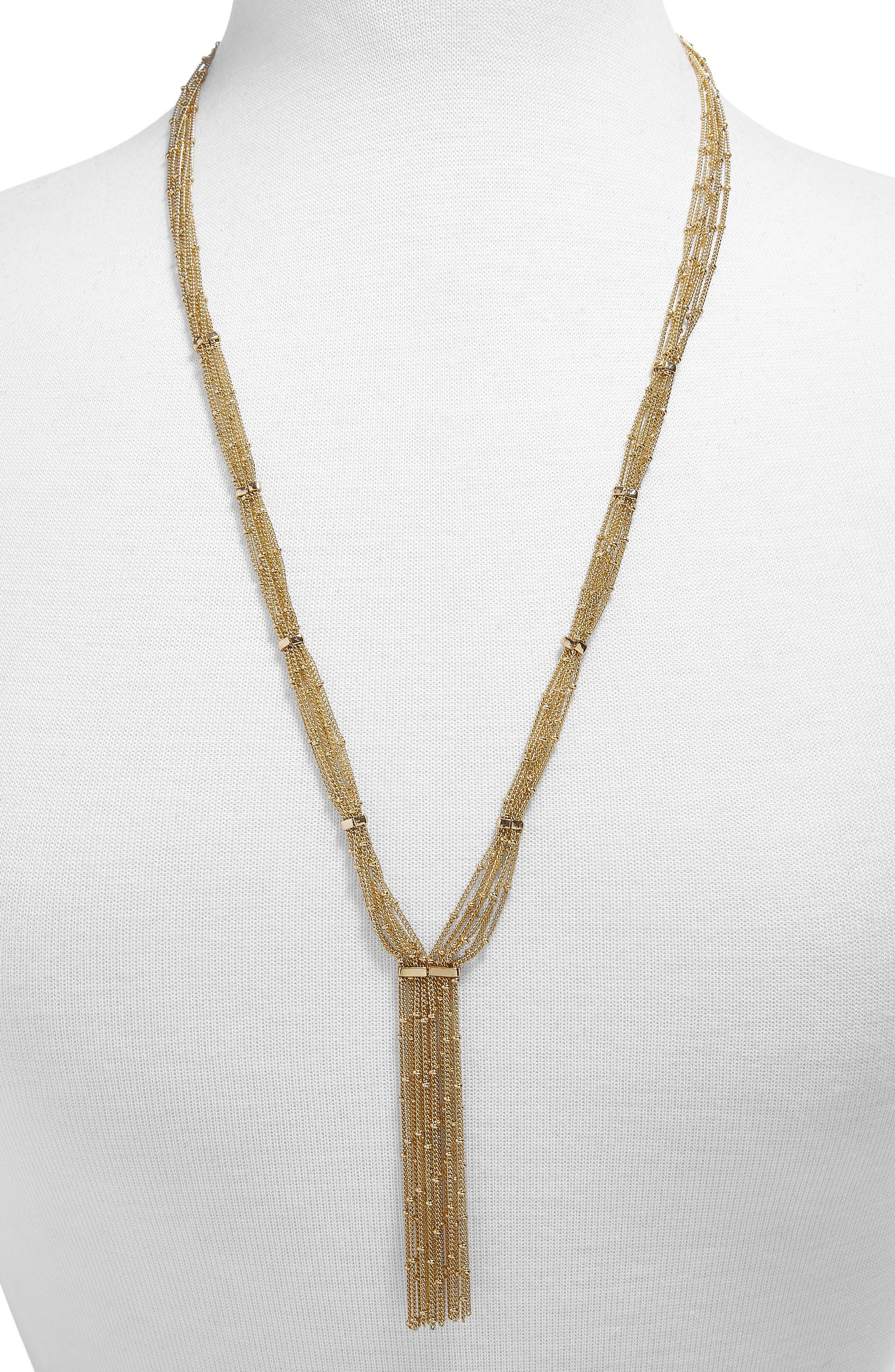 Pavanne Chain Y-Necklace,                         Main,                         color, 714