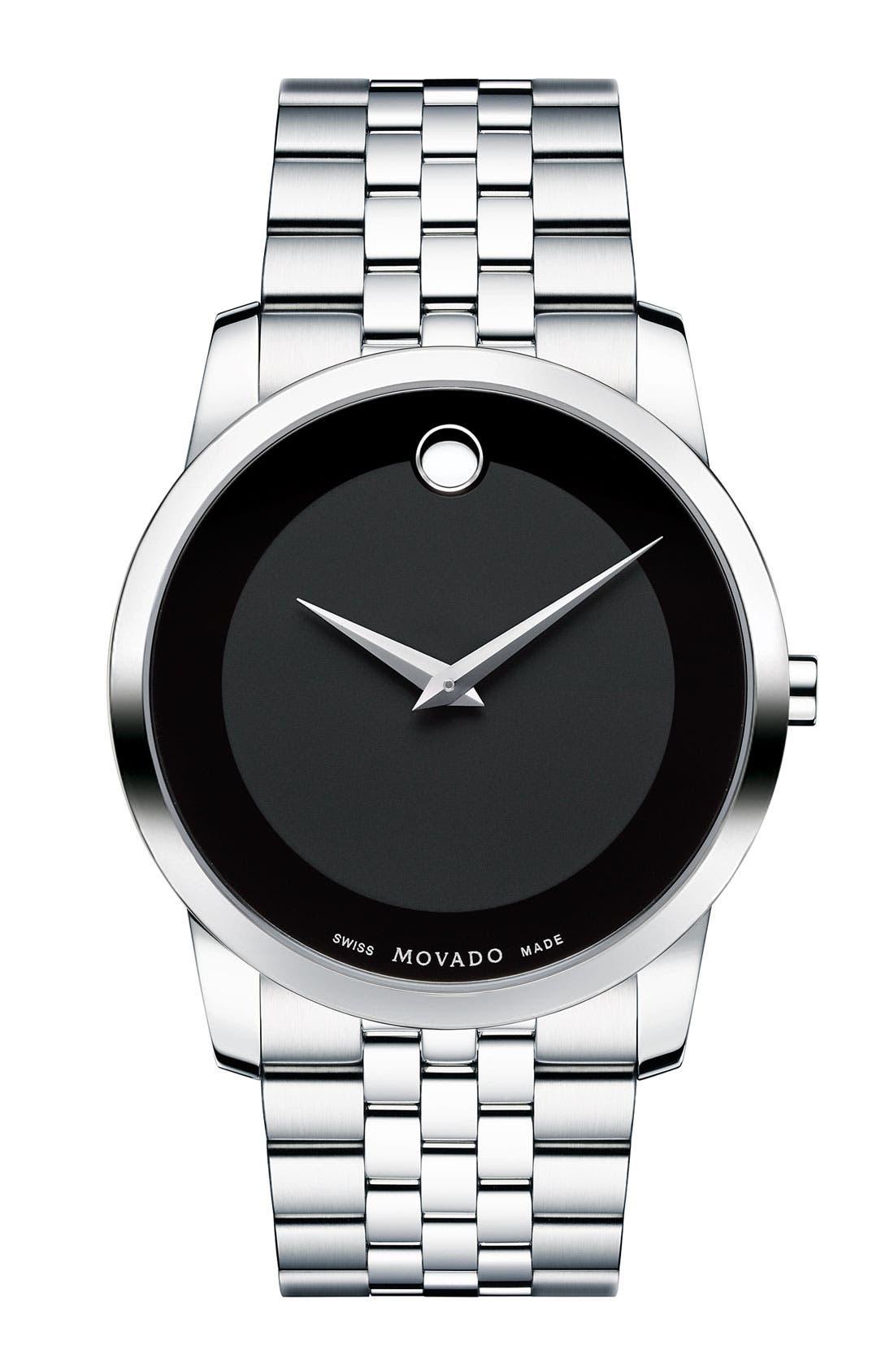 'Museum' Bracelet Watch, 40mm,                         Main,                         color, 040