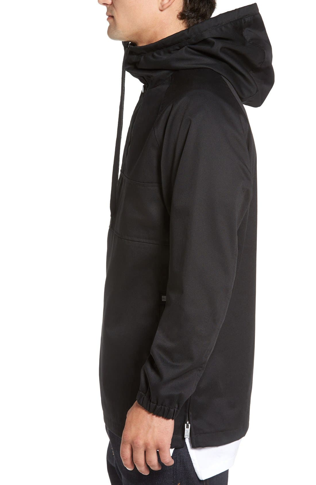 'Clinton' Hooded Anorak,                             Alternate thumbnail 3, color,                             001