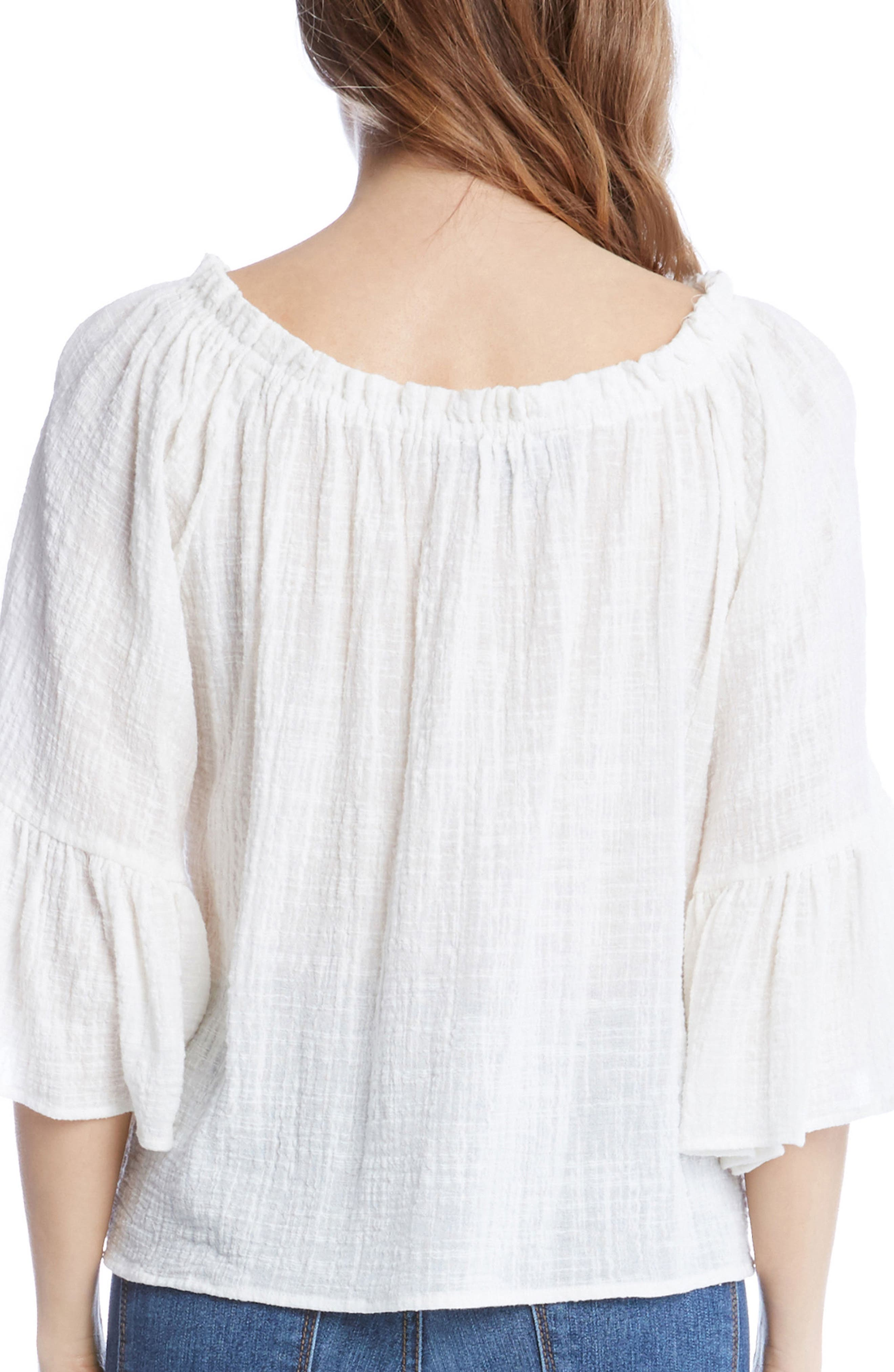 Convertible Off the Shoulder Top,                             Alternate thumbnail 4, color,