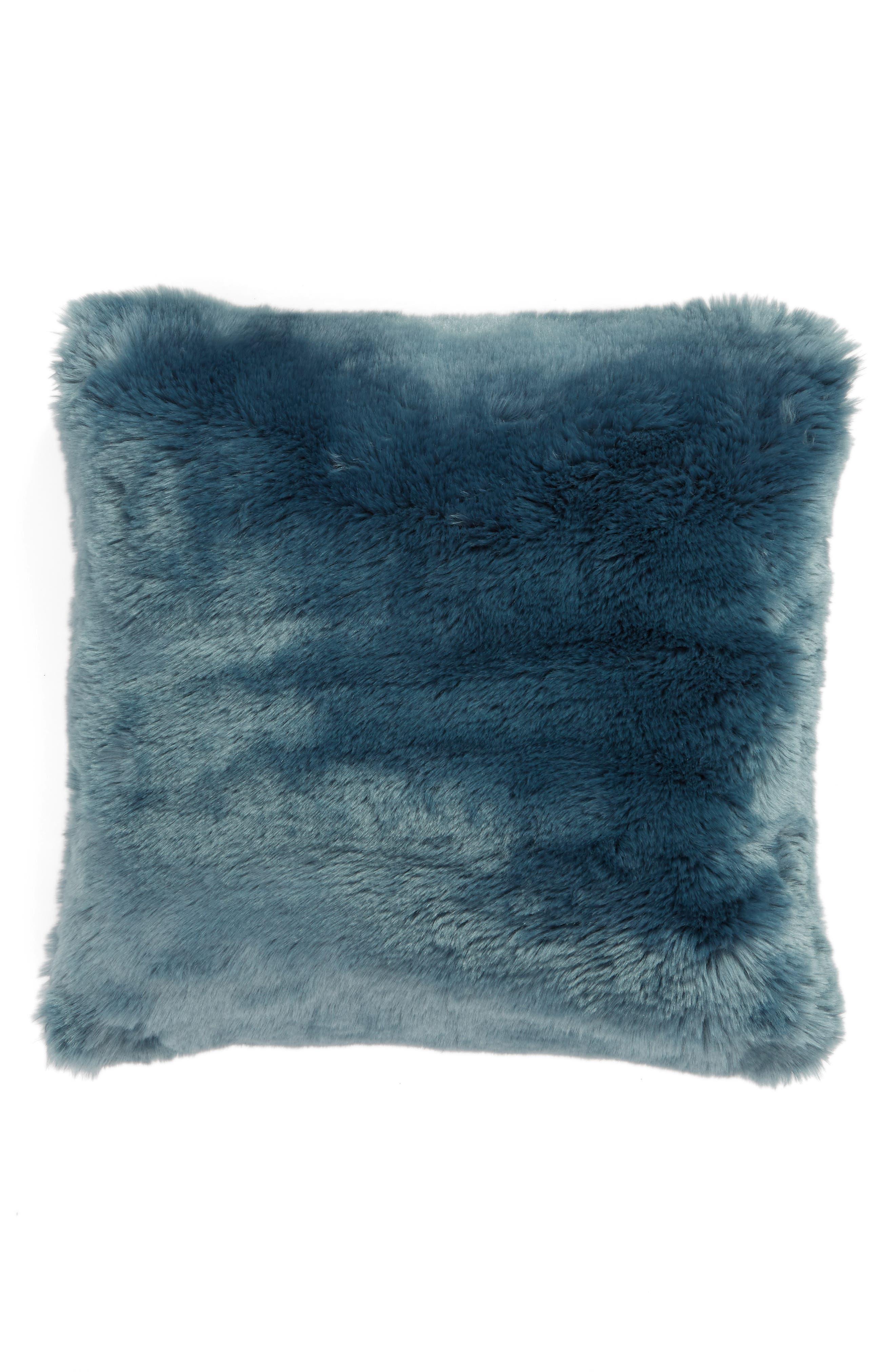 Cuddle Up Faux Fur Pillow,                             Main thumbnail 1, color,                             440