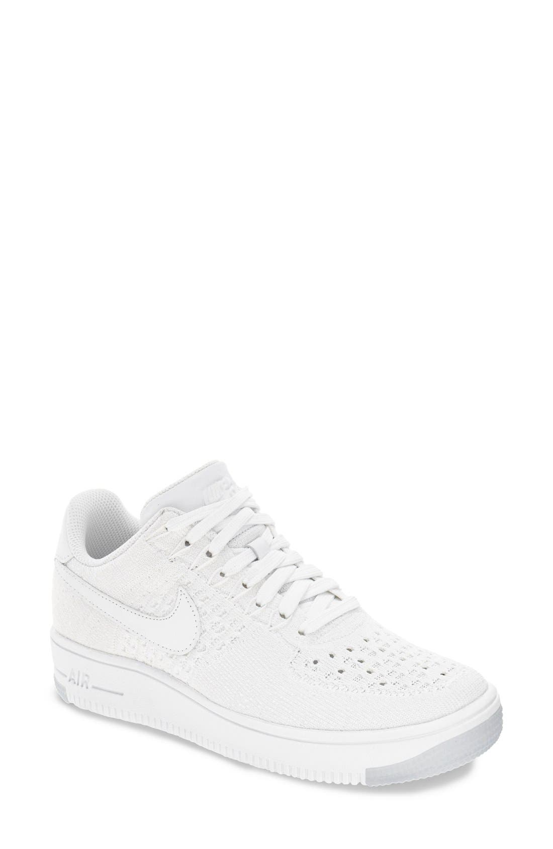 'Air Force 1 Flyknit Low' Sneaker,                             Main thumbnail 4, color,