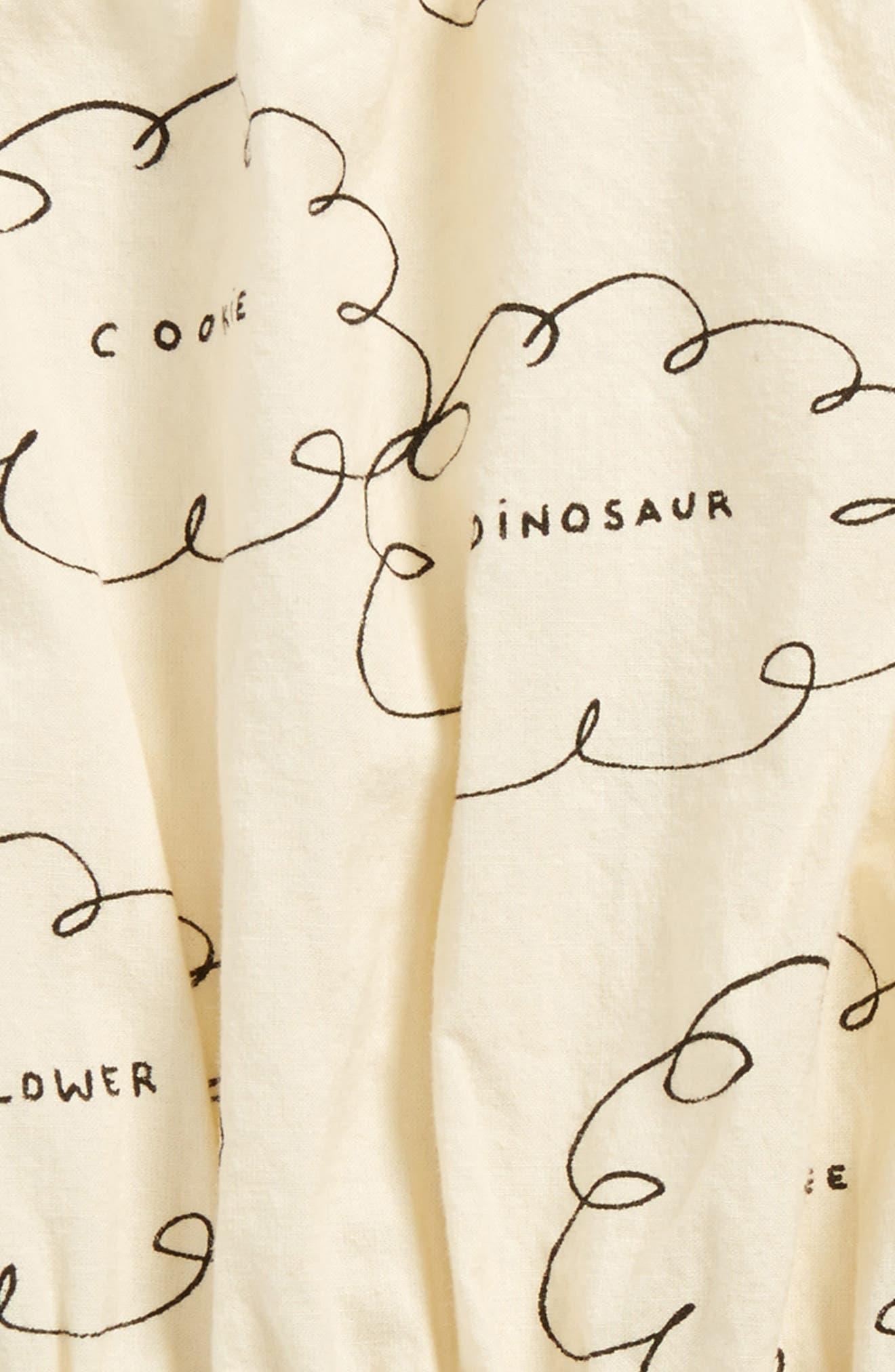 Clouds Organic Cotton Romper,                             Alternate thumbnail 2, color,                             105