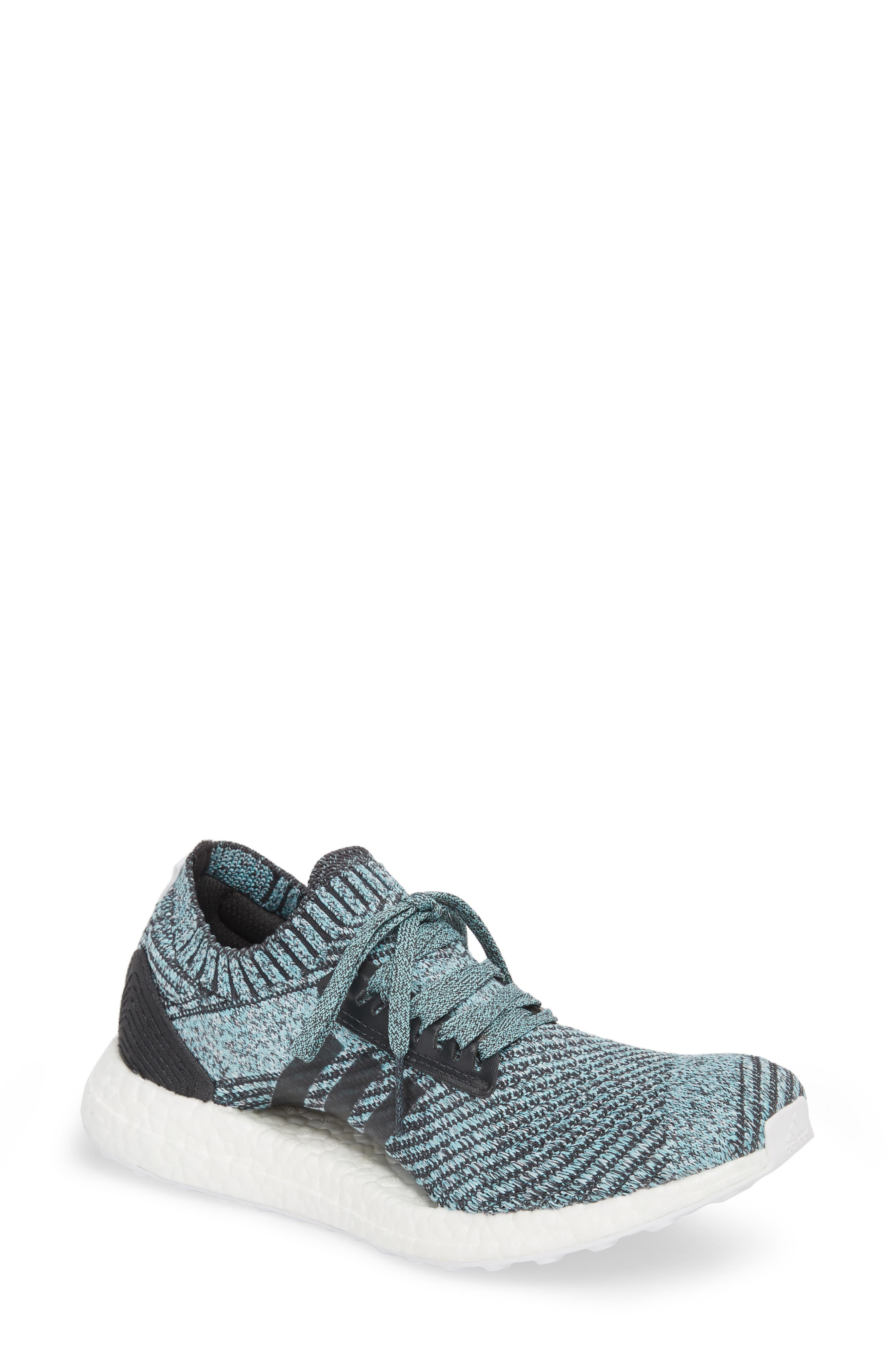 by Stella McCartney UltraBoost x Parley Running Shoe,                             Main thumbnail 2, color,