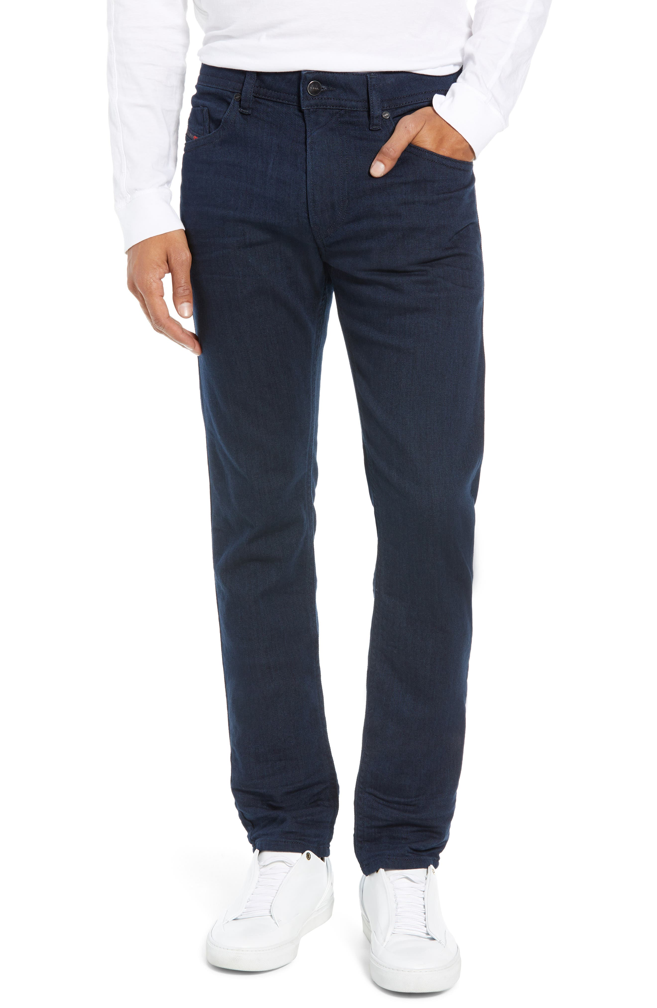 Thommer Skinny Fit Jeans, Main, color, 400