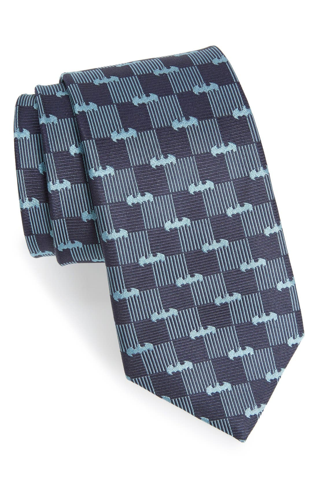 'Batman' Silk Tie,                             Main thumbnail 1, color,                             400