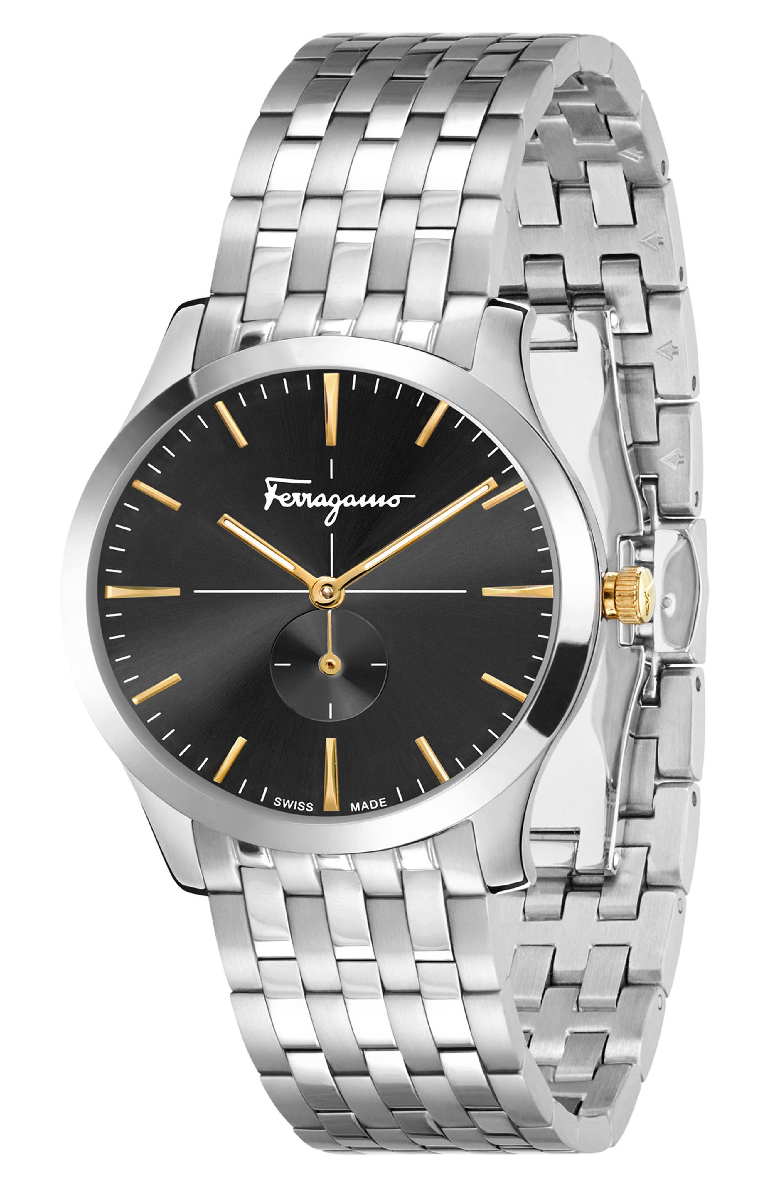 Slim Formal Bracelet Watch, 35mm,                             Alternate thumbnail 4, color,                             040
